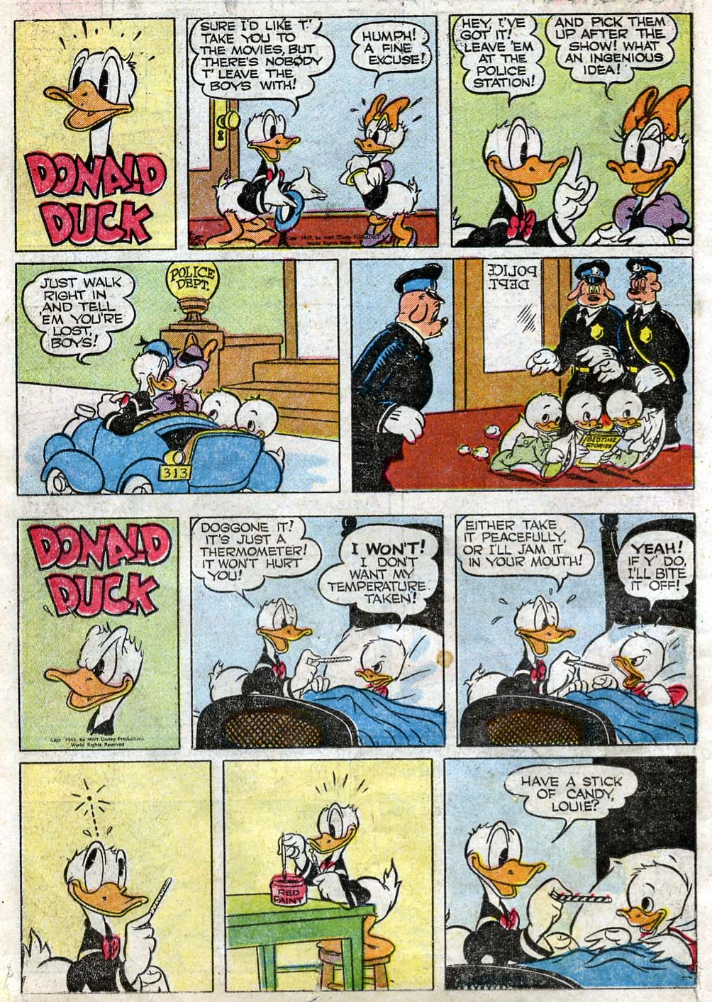Walt Disney's Comics and Stories issue 87 - Page 38