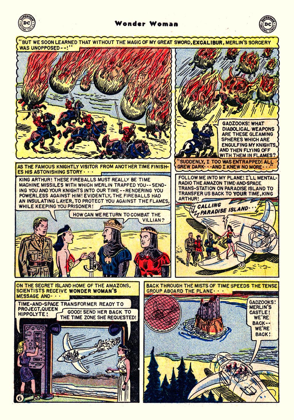 Read online Wonder Woman (1942) comic -  Issue #54 - 8