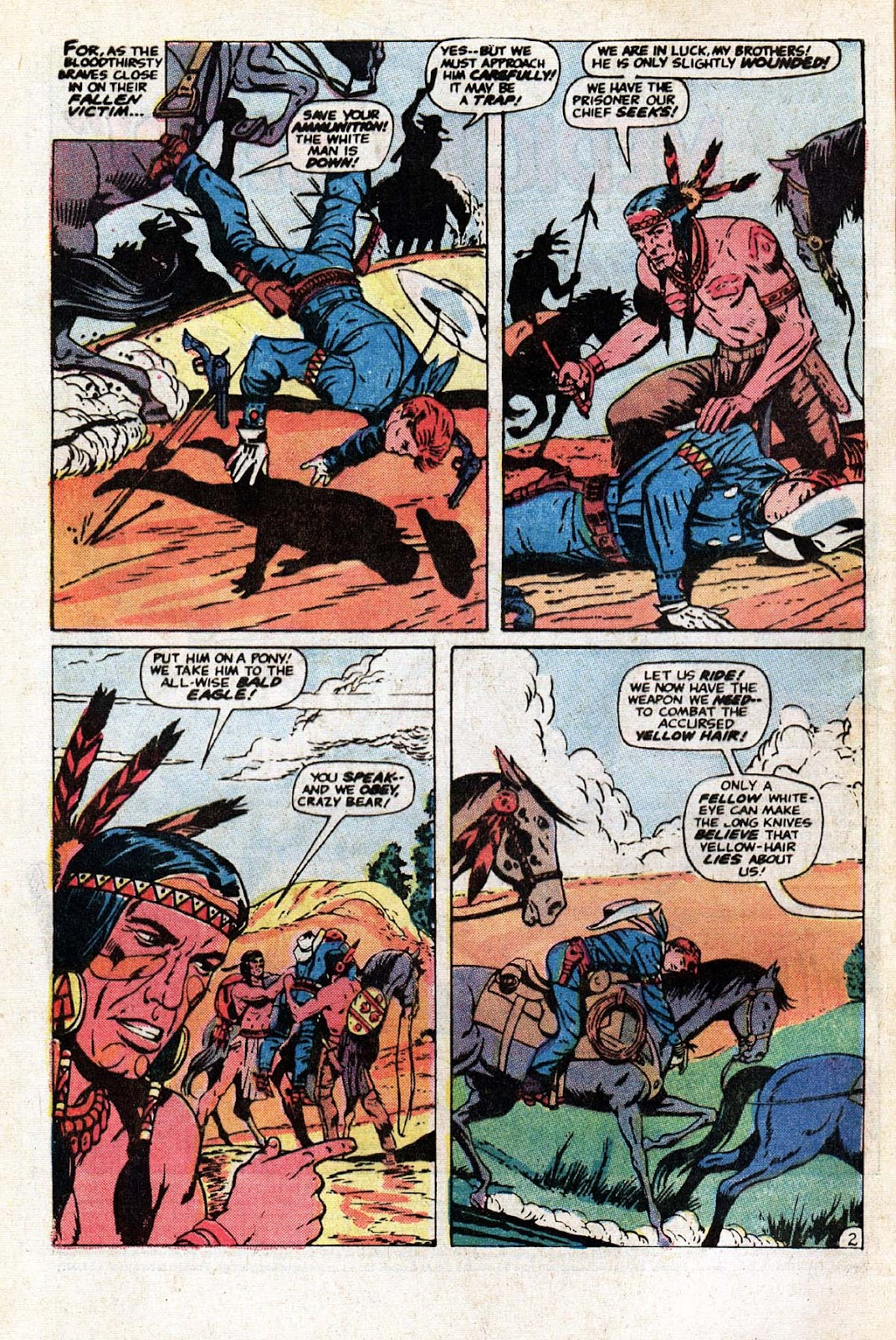 The Mighty Marvel Western issue 15 - Page 3
