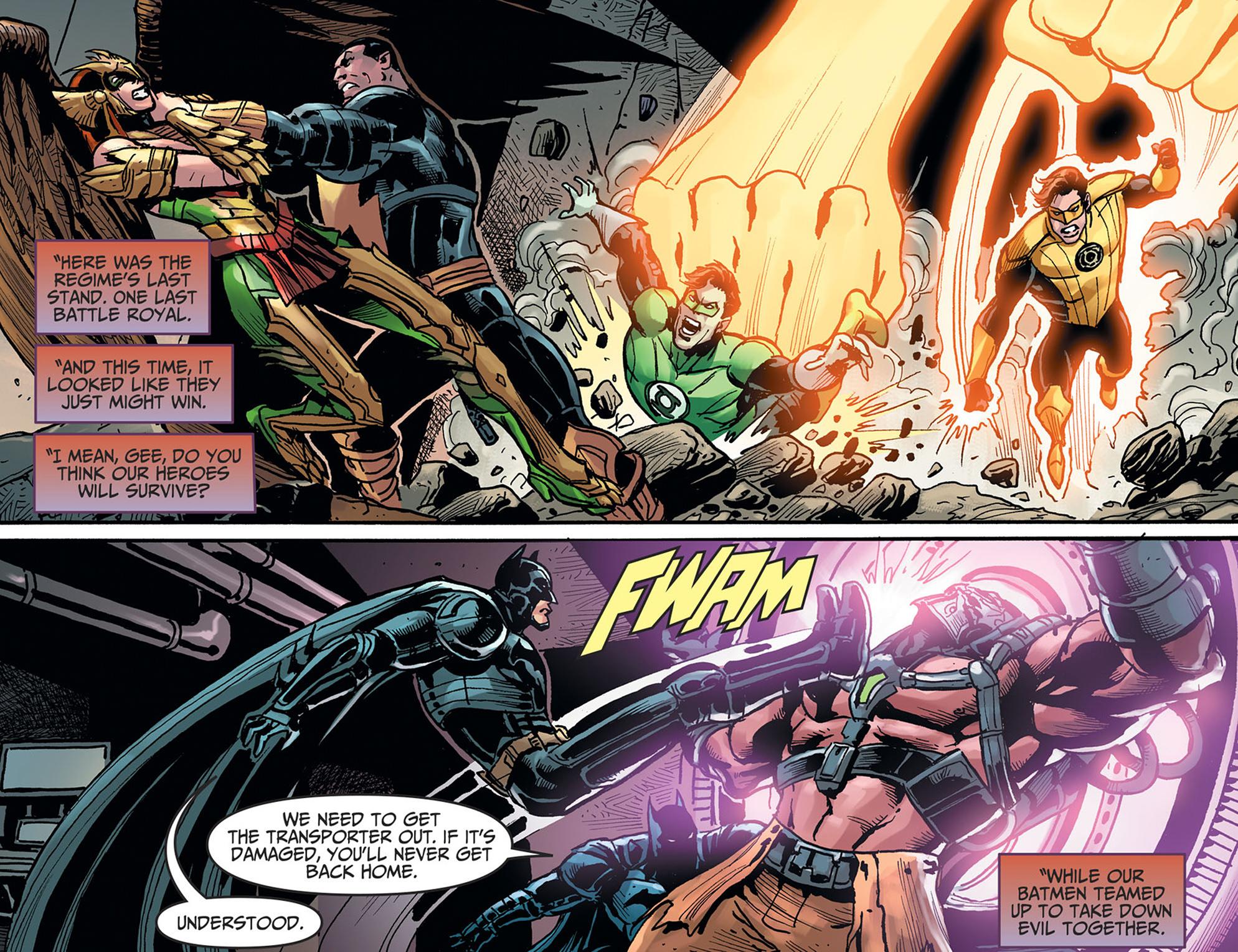 Read online Injustice: Ground Zero comic -  Issue #22 - 4