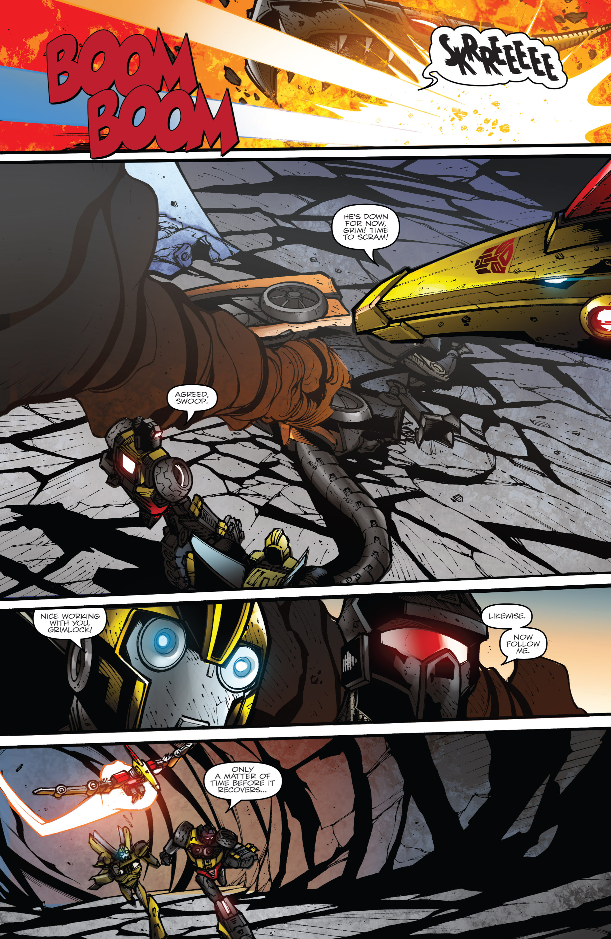 Read online Transformers Prime: Beast Hunters comic -  Issue #8 - 17