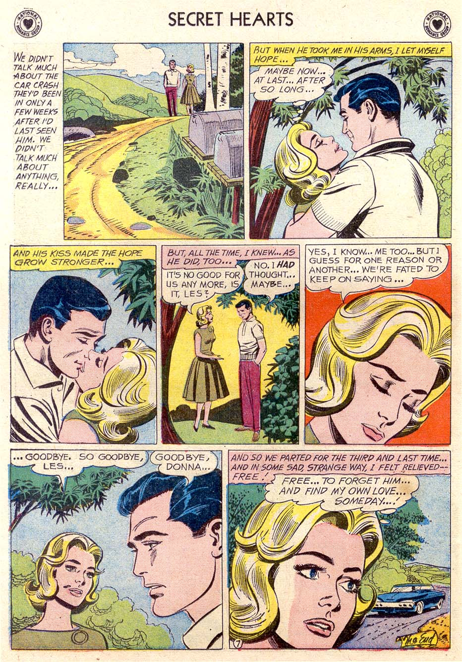 Read online Secret Hearts comic -  Issue #65 - 25