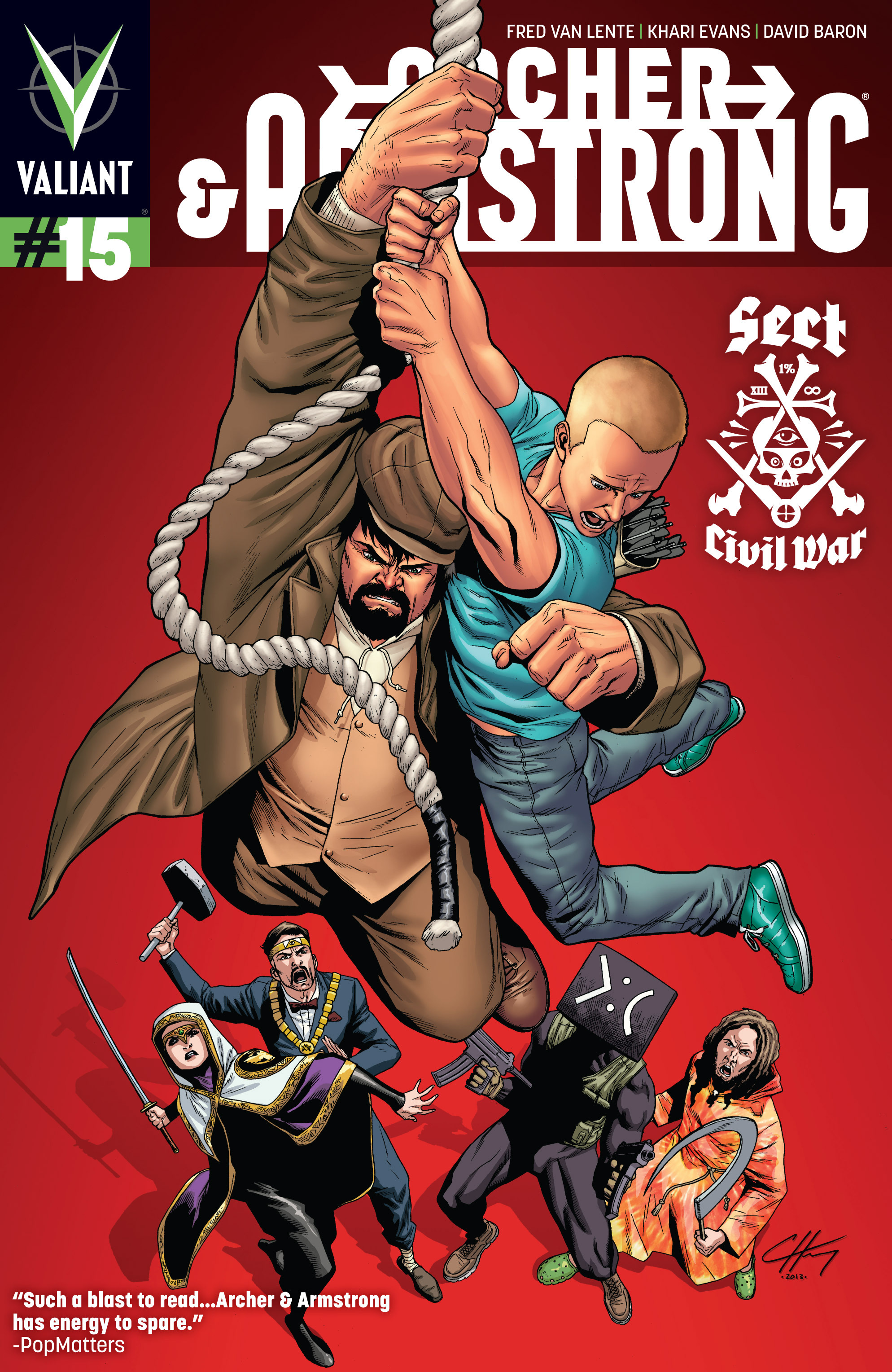 Read online Archer and Armstrong comic -  Issue #Archer and Armstrong _TPB 4 - 30
