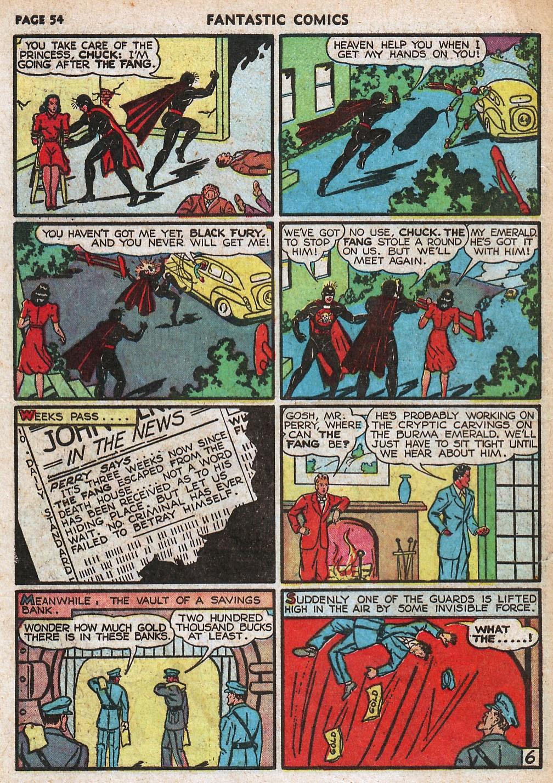 Read online Fantastic Comics comic -  Issue #18 - 56