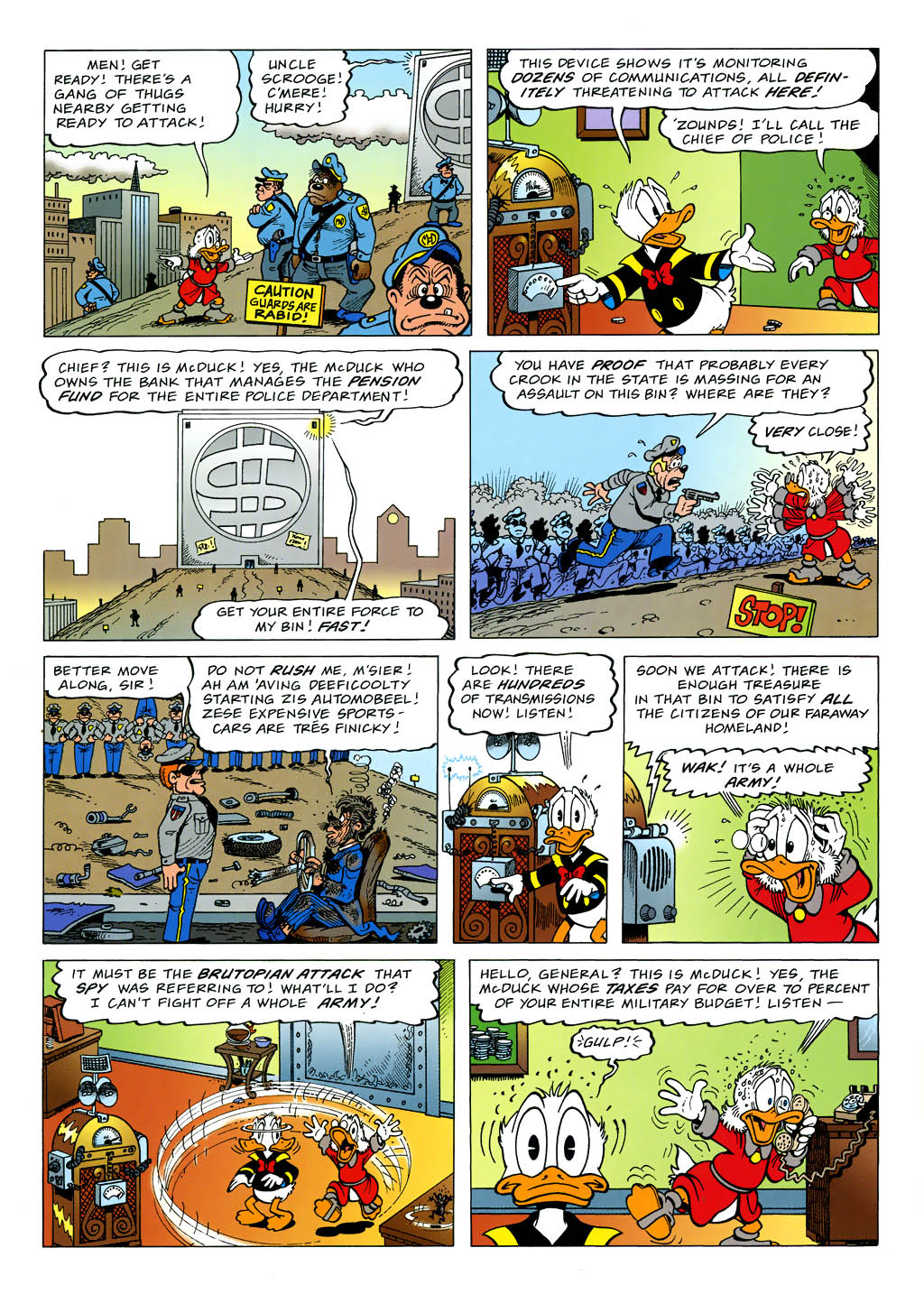 Read online Uncle Scrooge (1953) comic -  Issue #321 - 10