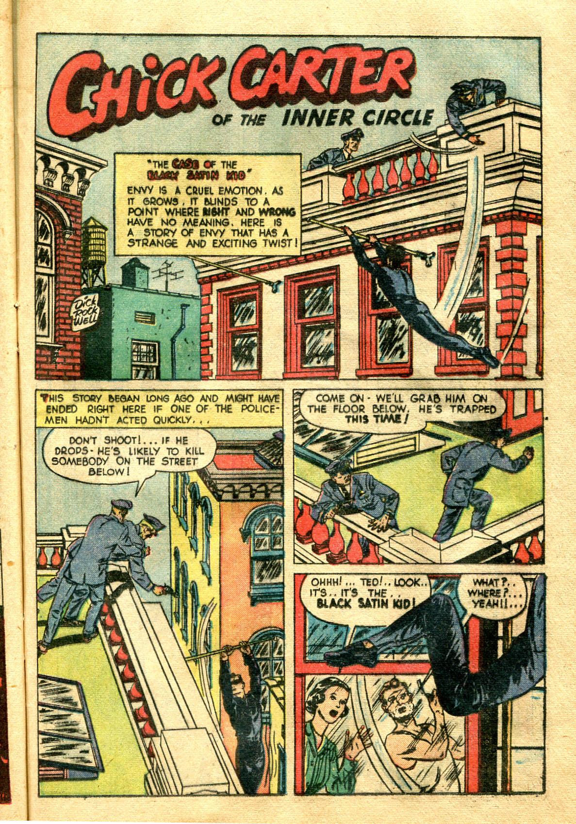 Read online Shadow Comics comic -  Issue #99 - 39