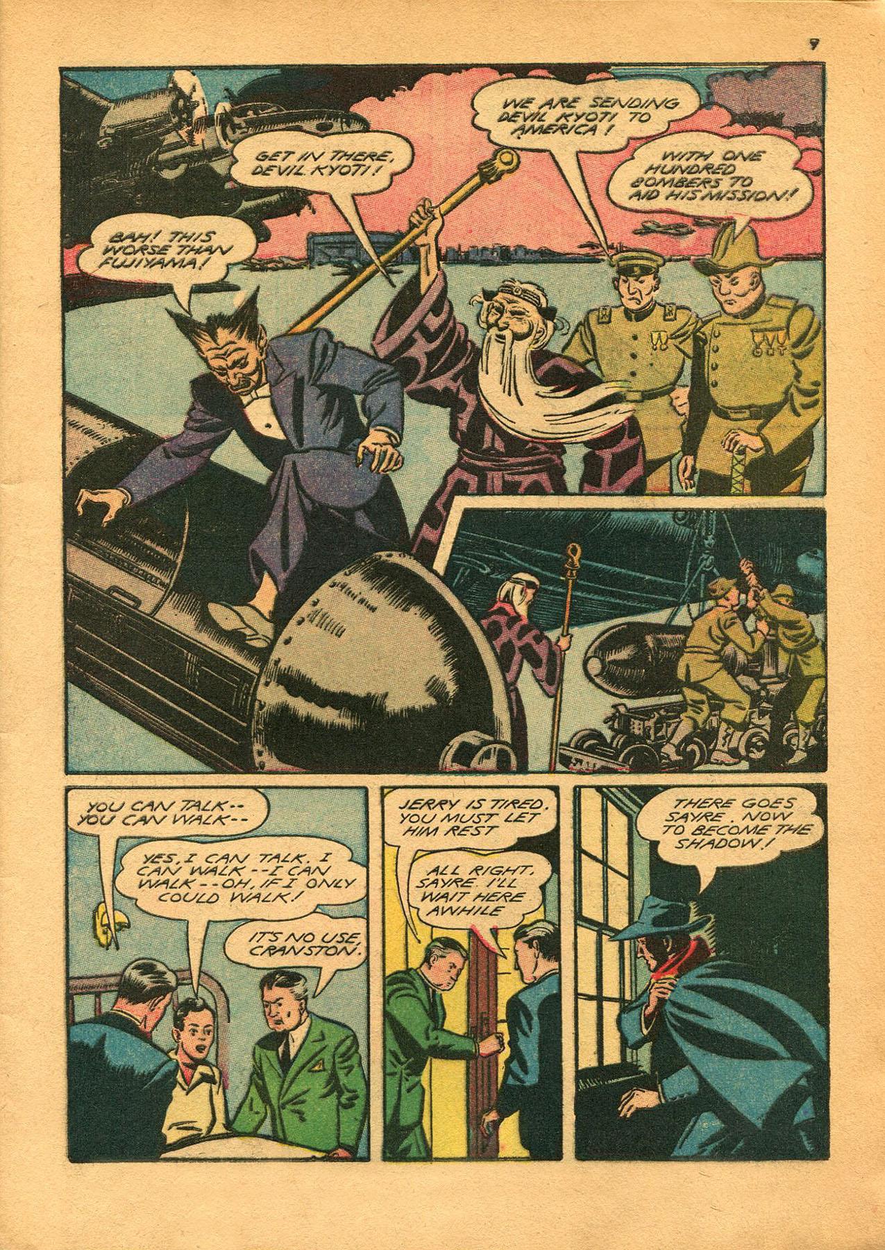 Read online Shadow Comics comic -  Issue #23 - 9