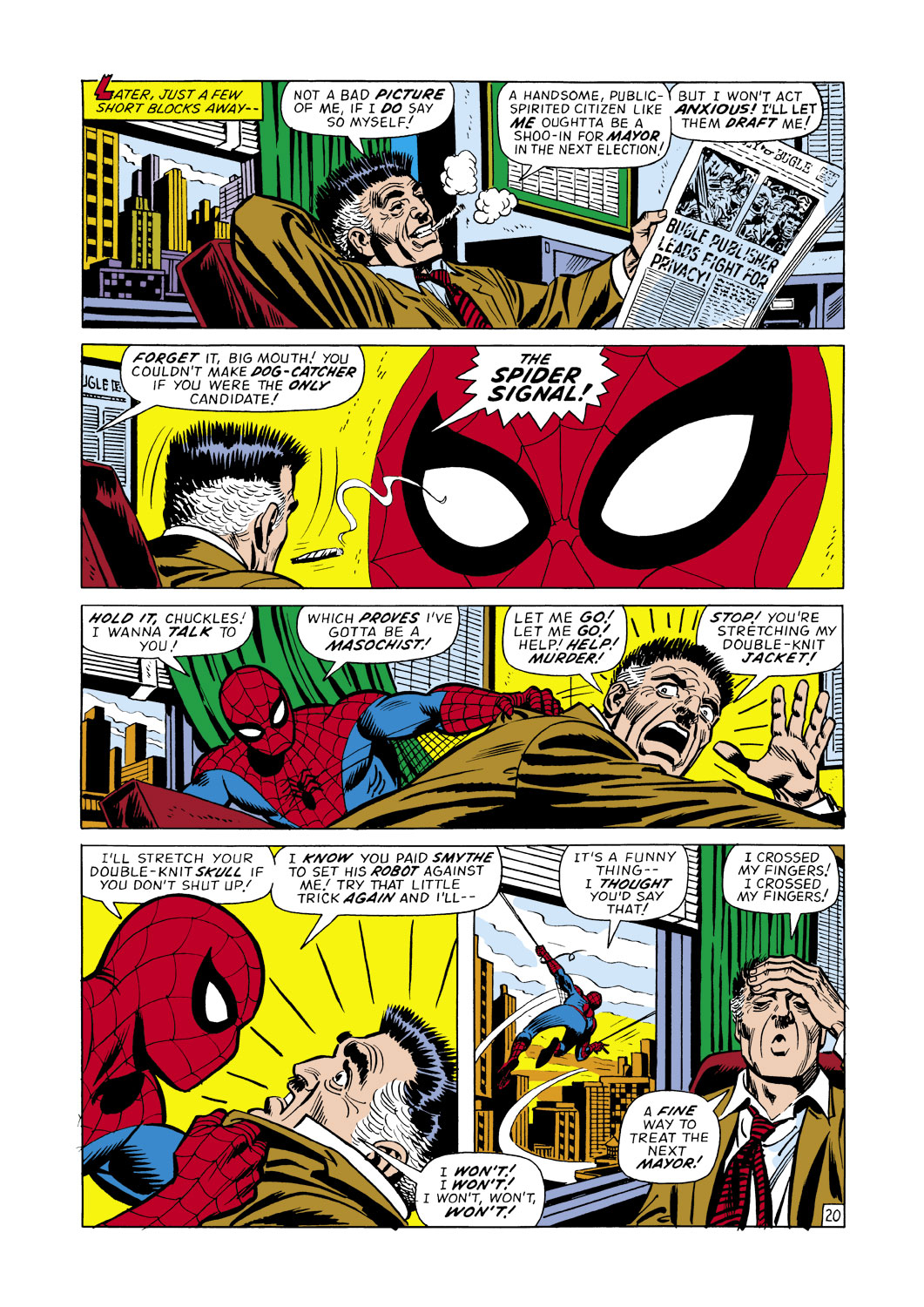 The Amazing Spider-Man (1963) 107 Page 20
