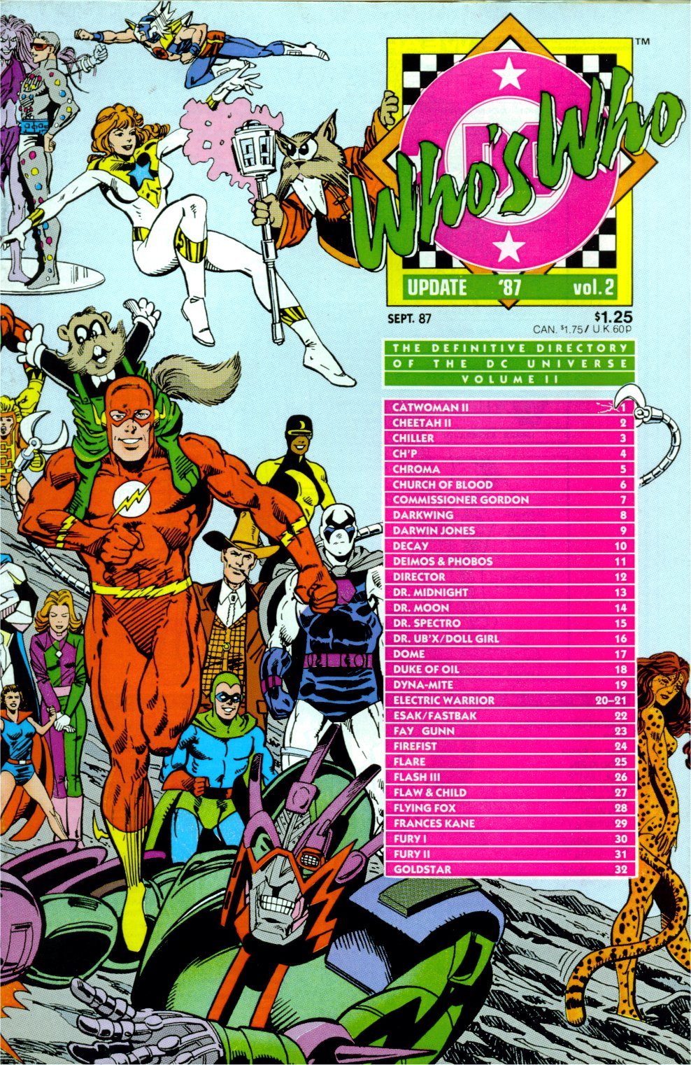 Who's Who: Update '87 issue 2 - Page 1