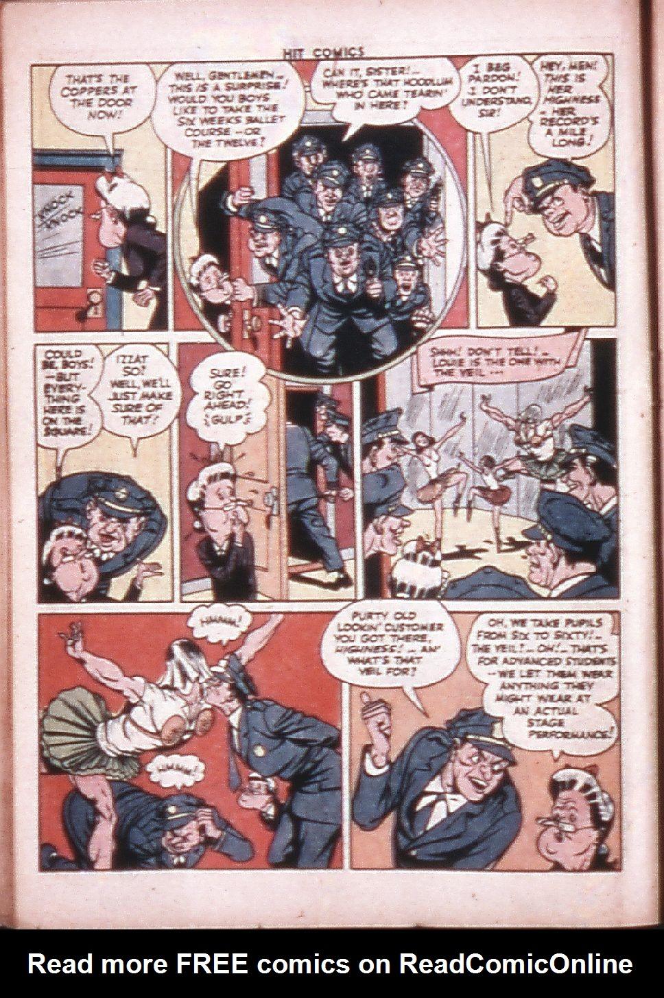 Read online Hit Comics comic -  Issue #33 - 21