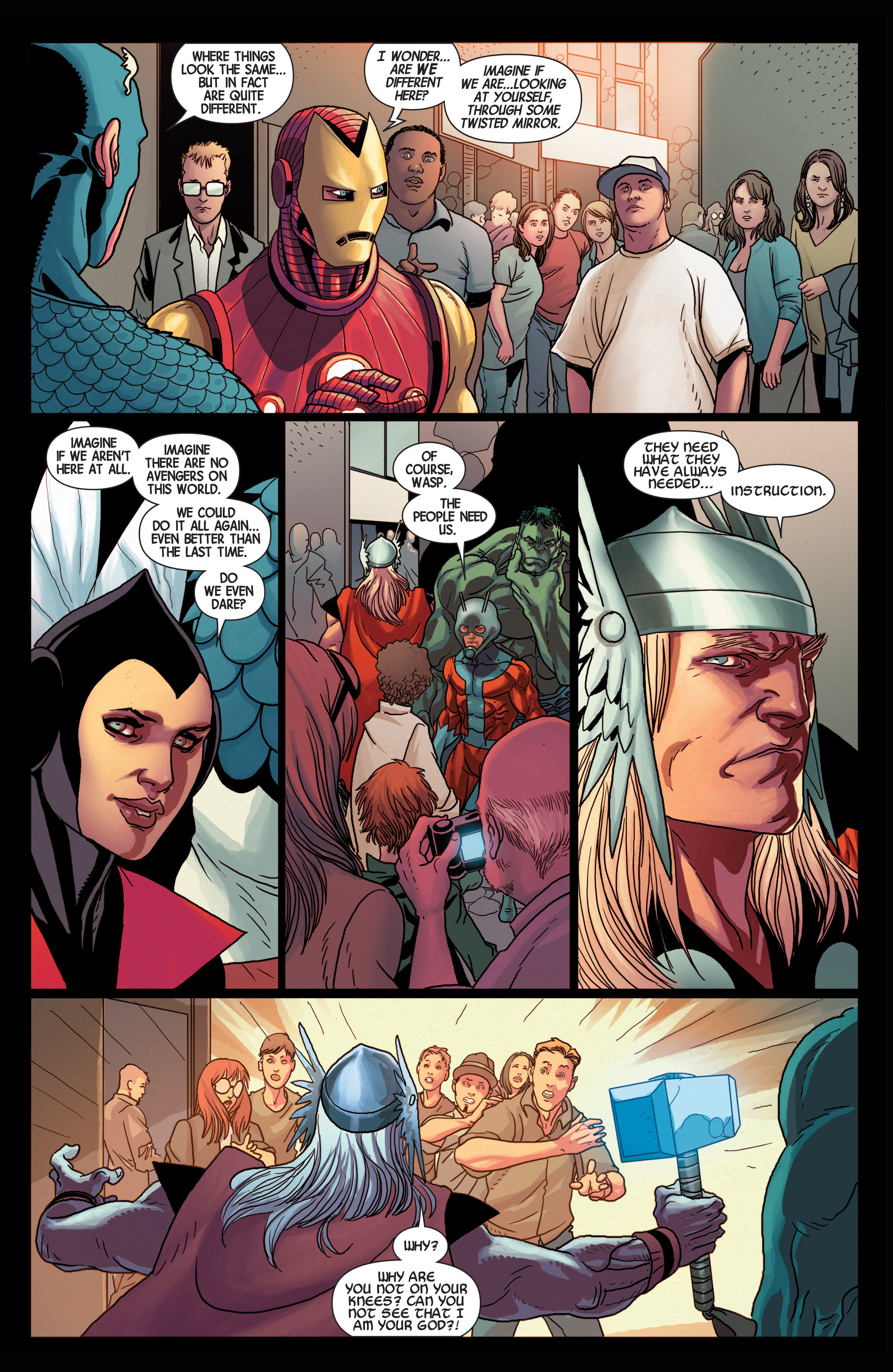 Read online Avengers (2013) comic -  Issue #25 - 21