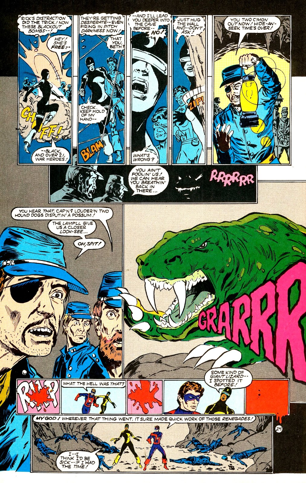 Infinity Inc. (1984) issue 22 - Page 26