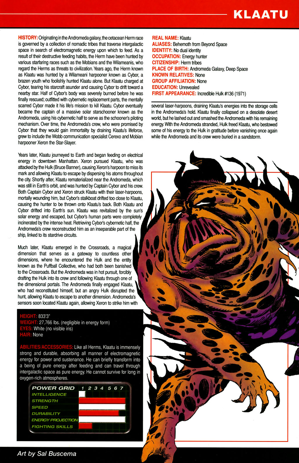 Read online All-New Official Handbook of the Marvel Universe A to Z comic -  Issue #6 - 17
