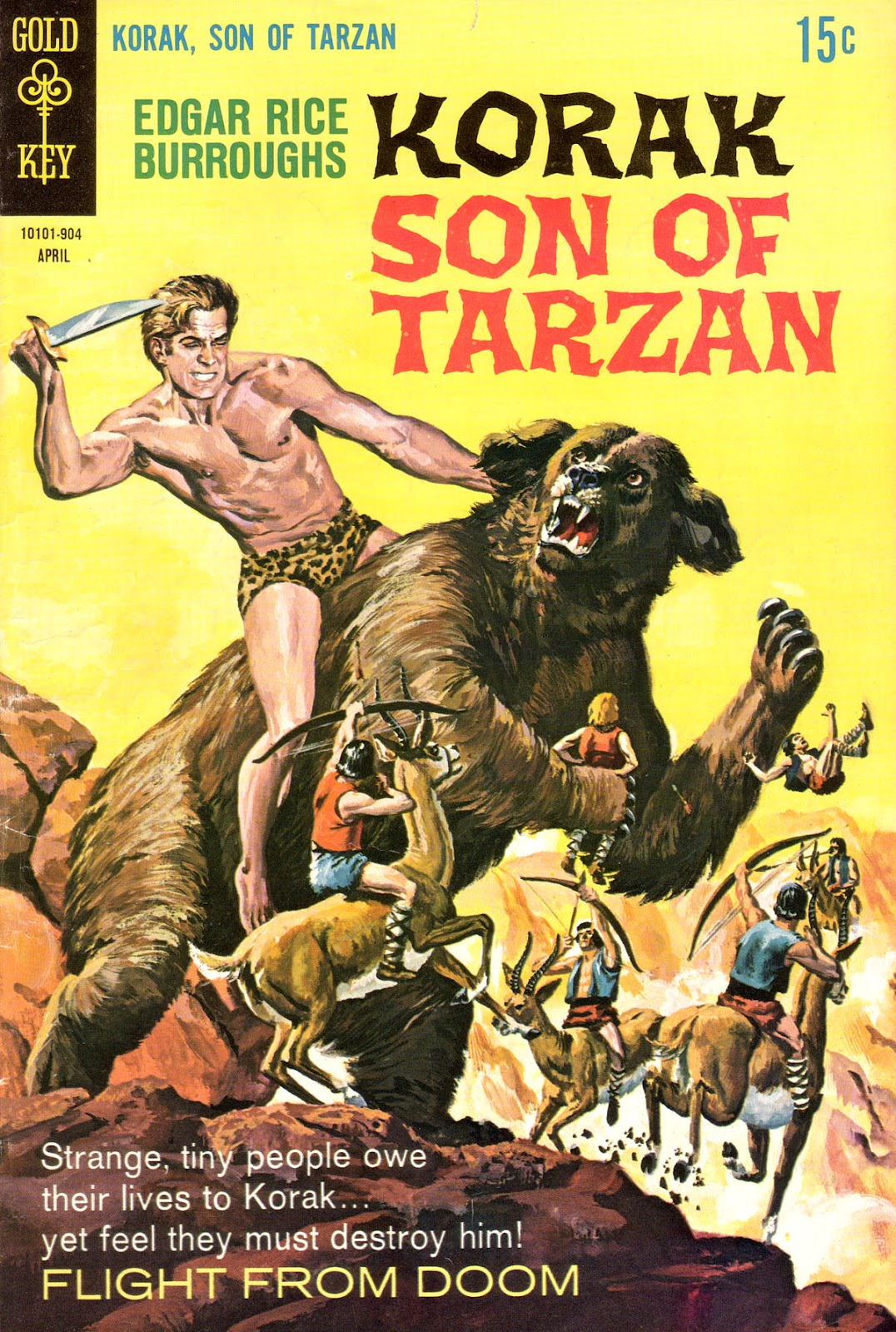 Korak, Son of Tarzan (1964) issue 28 - Page 1