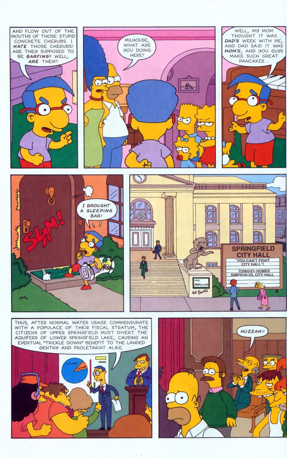 Read online Simpsons Comics comic -  Issue #50 - 7