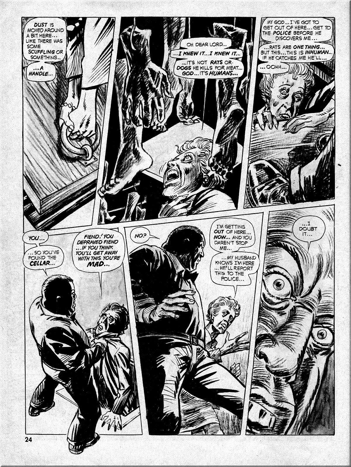 Nightmare (1970) issue 10 - Page 24