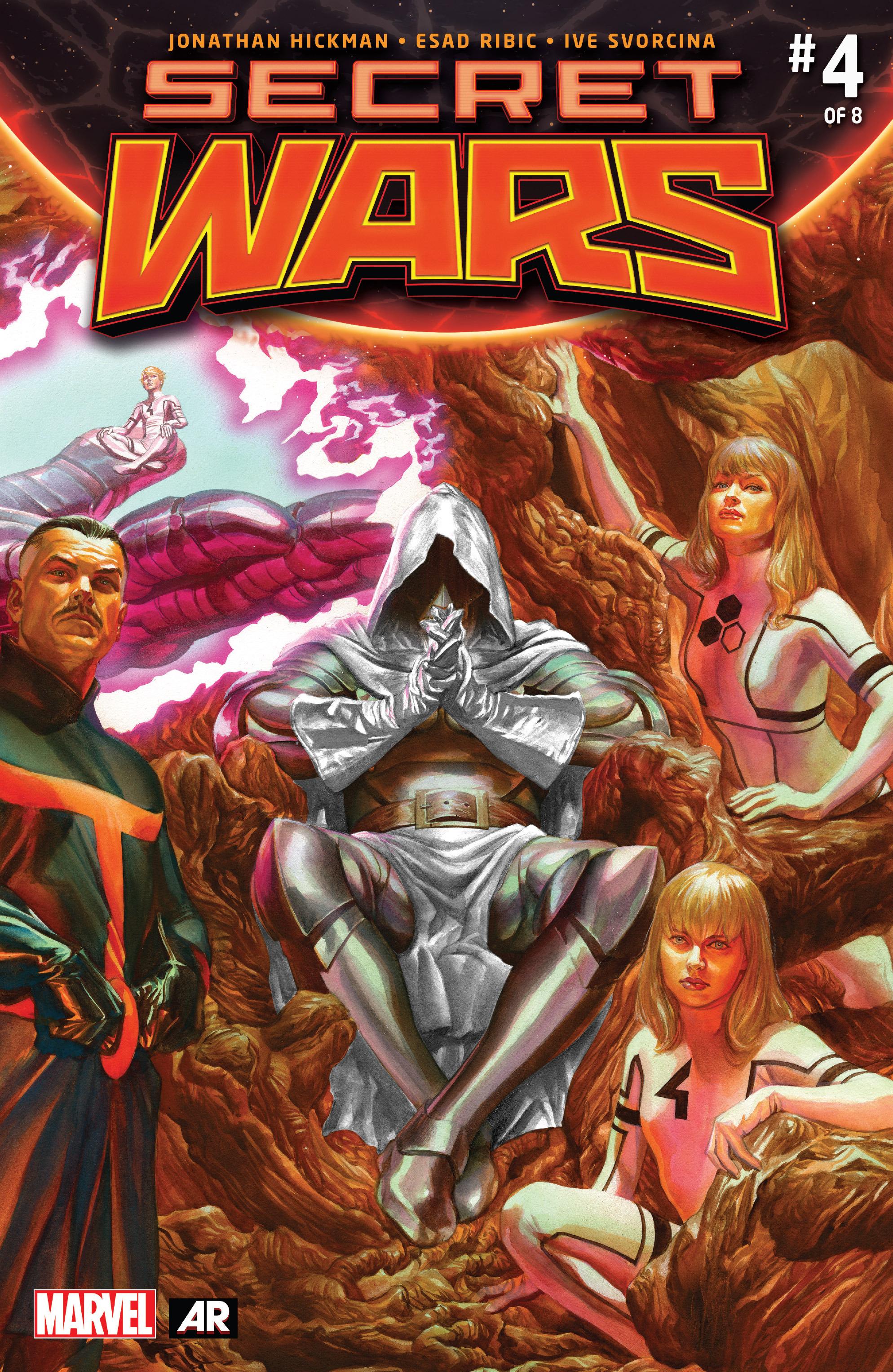Read online Secret Wars comic -  Issue #4 - 1