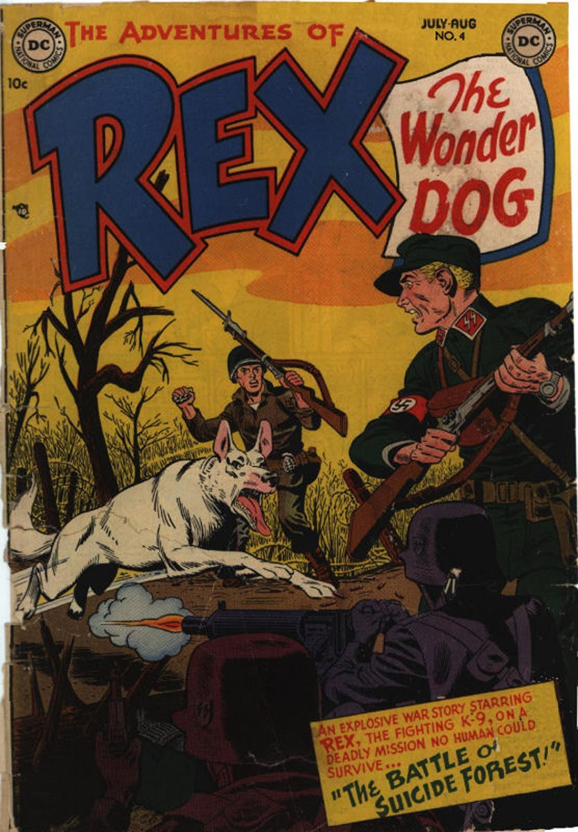 The Adventures of Rex the Wonder Dog issue 4 - Page 1