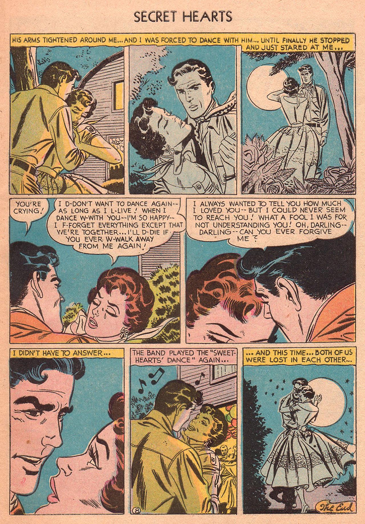 Read online Secret Hearts comic -  Issue #27 - 33