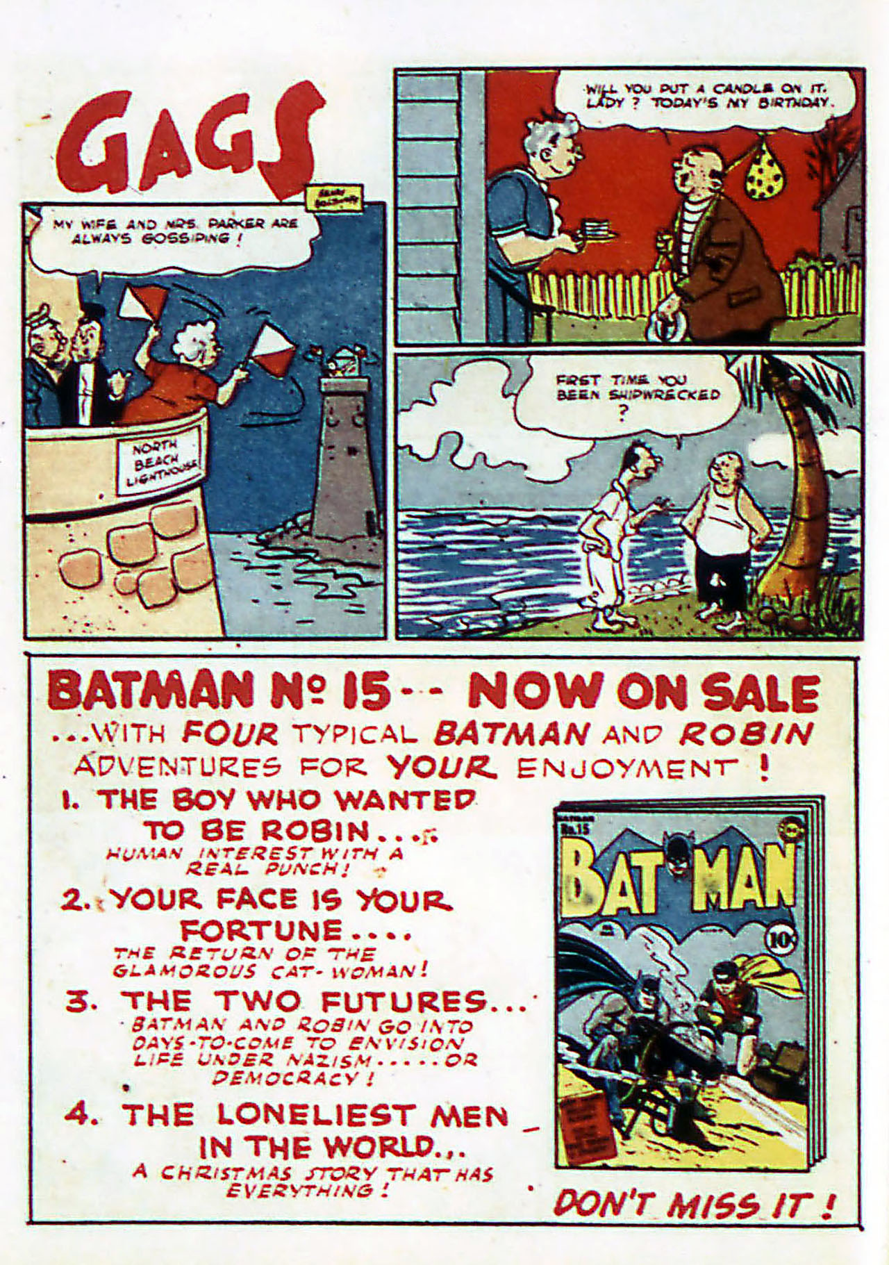 Read online Detective Comics (1937) comic -  Issue #72 - 17