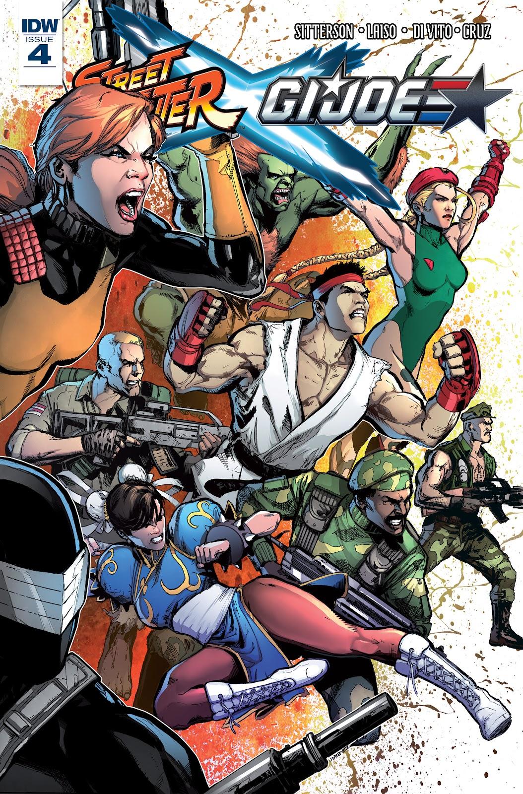 Street Fighter X G.I. Joe 4 Page 1