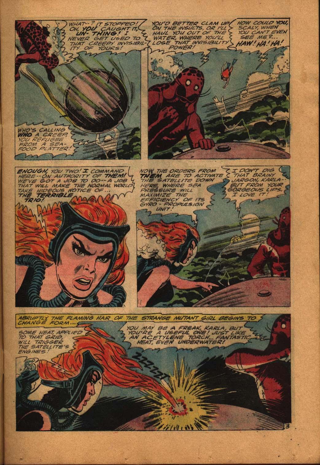 Read online Aquaman (1962) comic -  Issue #24 - 5
