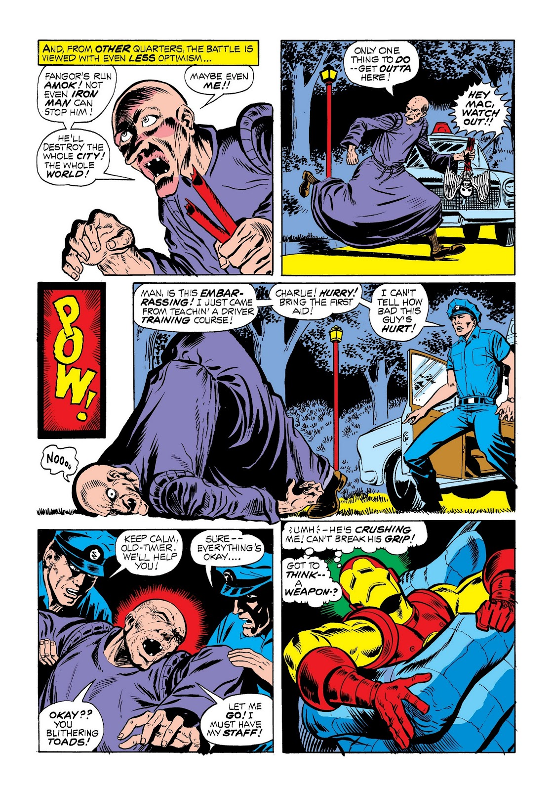 Read online Marvel Masterworks: The Invincible Iron Man comic -  Issue # TPB 9 (Part 1) - 66