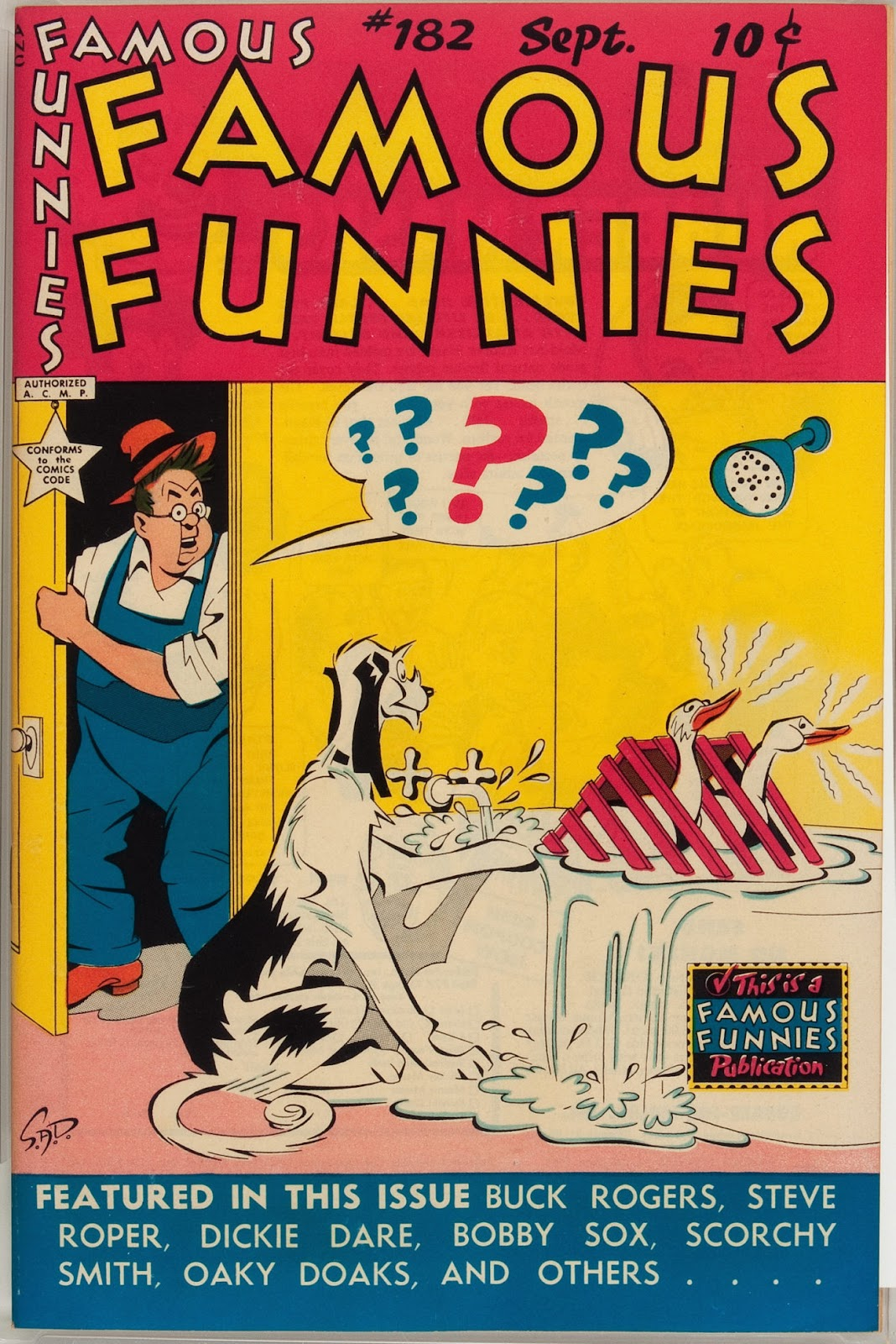 Read online Famous Funnies comic -  Issue #182 - 1