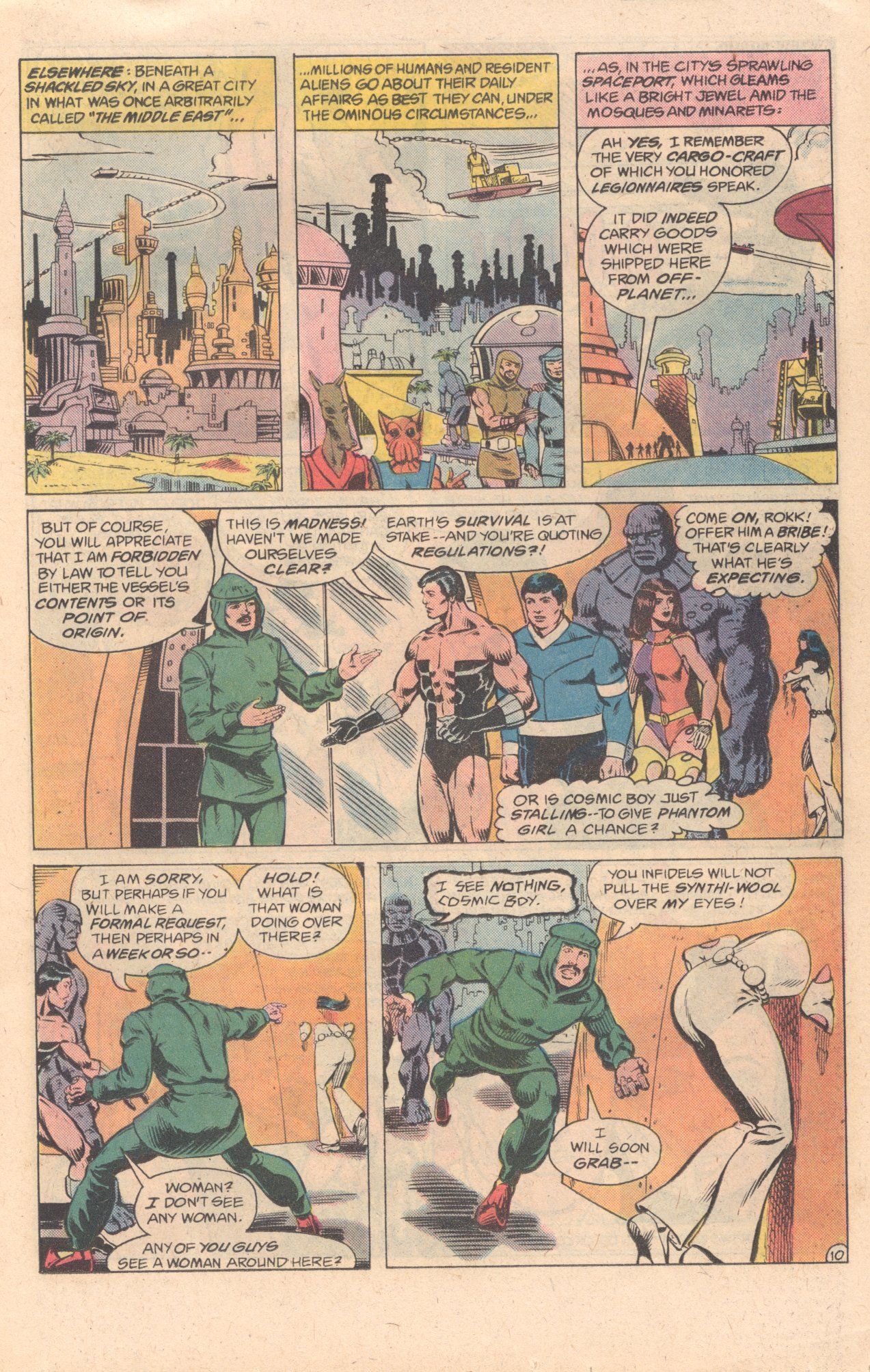 Legion of Super-Heroes (1980) 278 Page 10