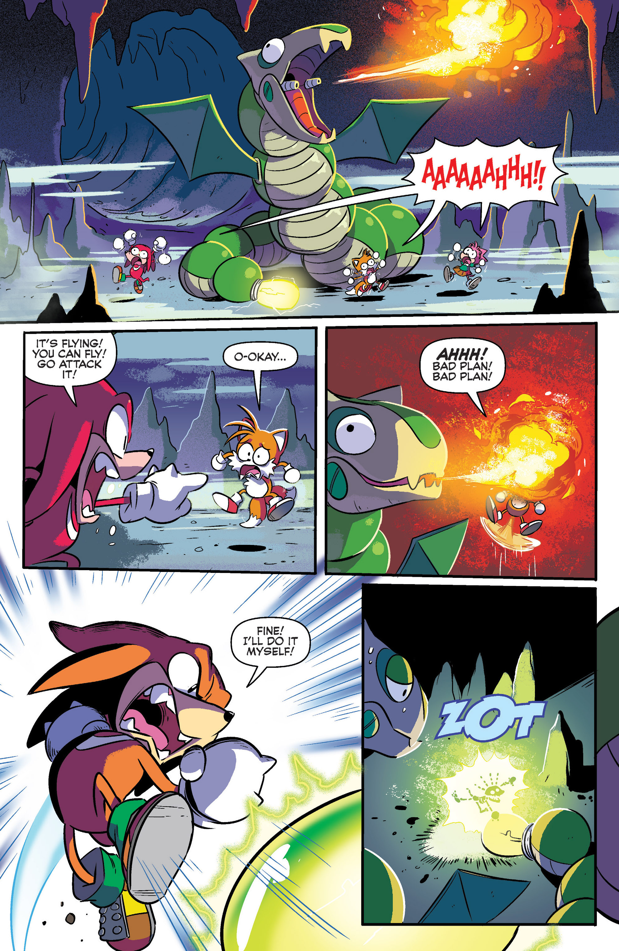 Read online Sonic: Mega Drive - The Next Level comic -  Issue # Full - 10