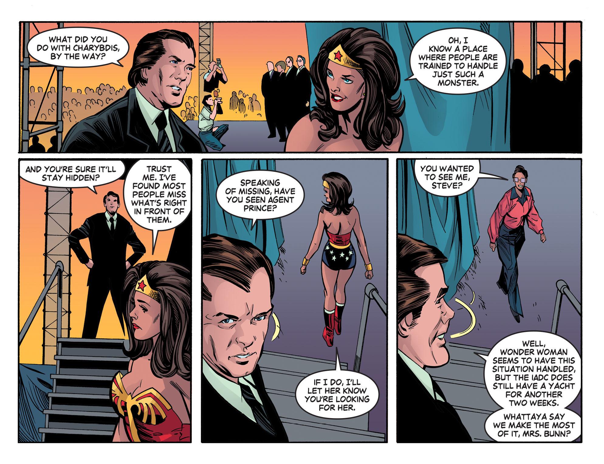 Read online Wonder Woman '77 [I] comic -  Issue #20 - 21