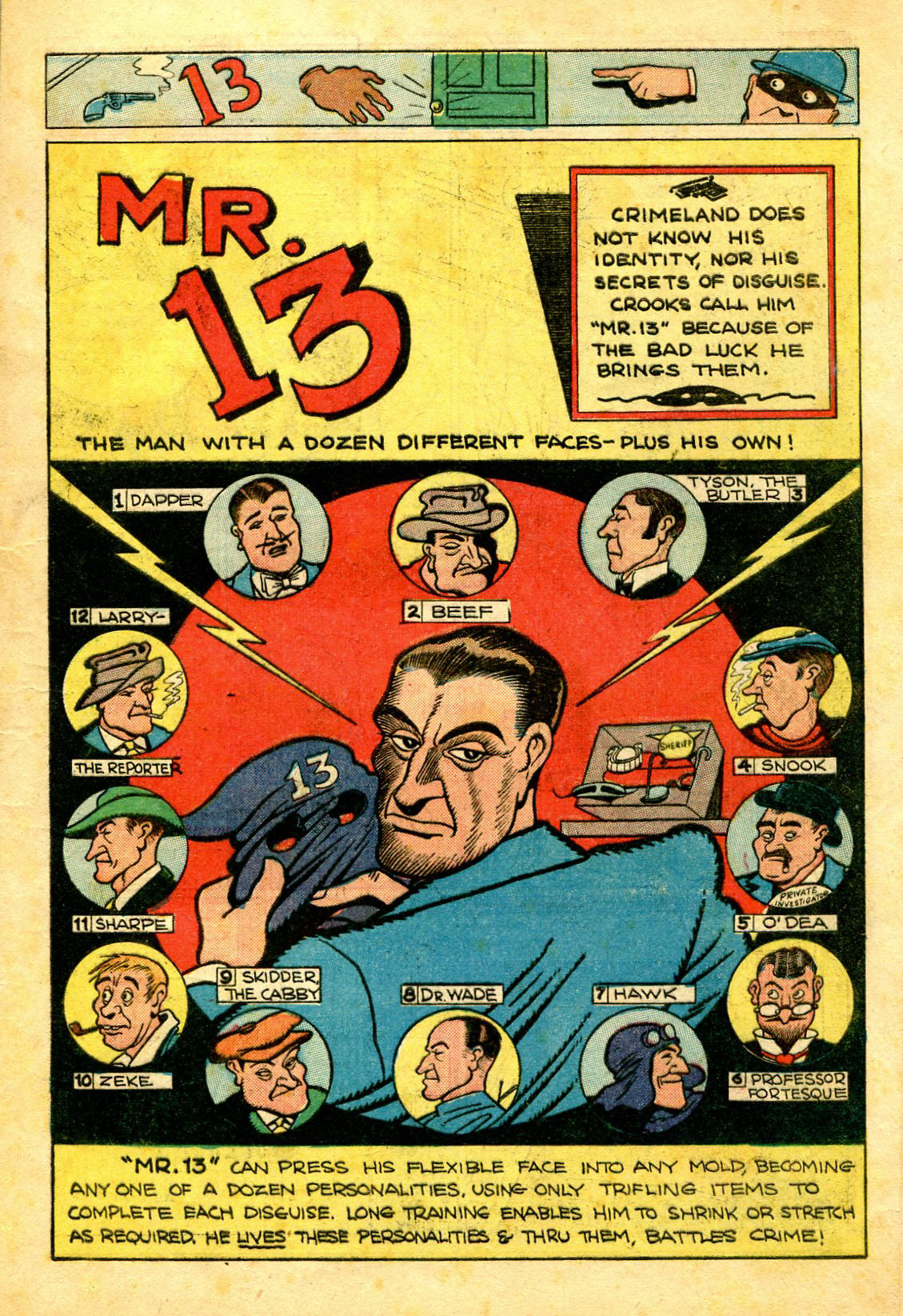 Read online Shadow Comics comic -  Issue #43 - 17