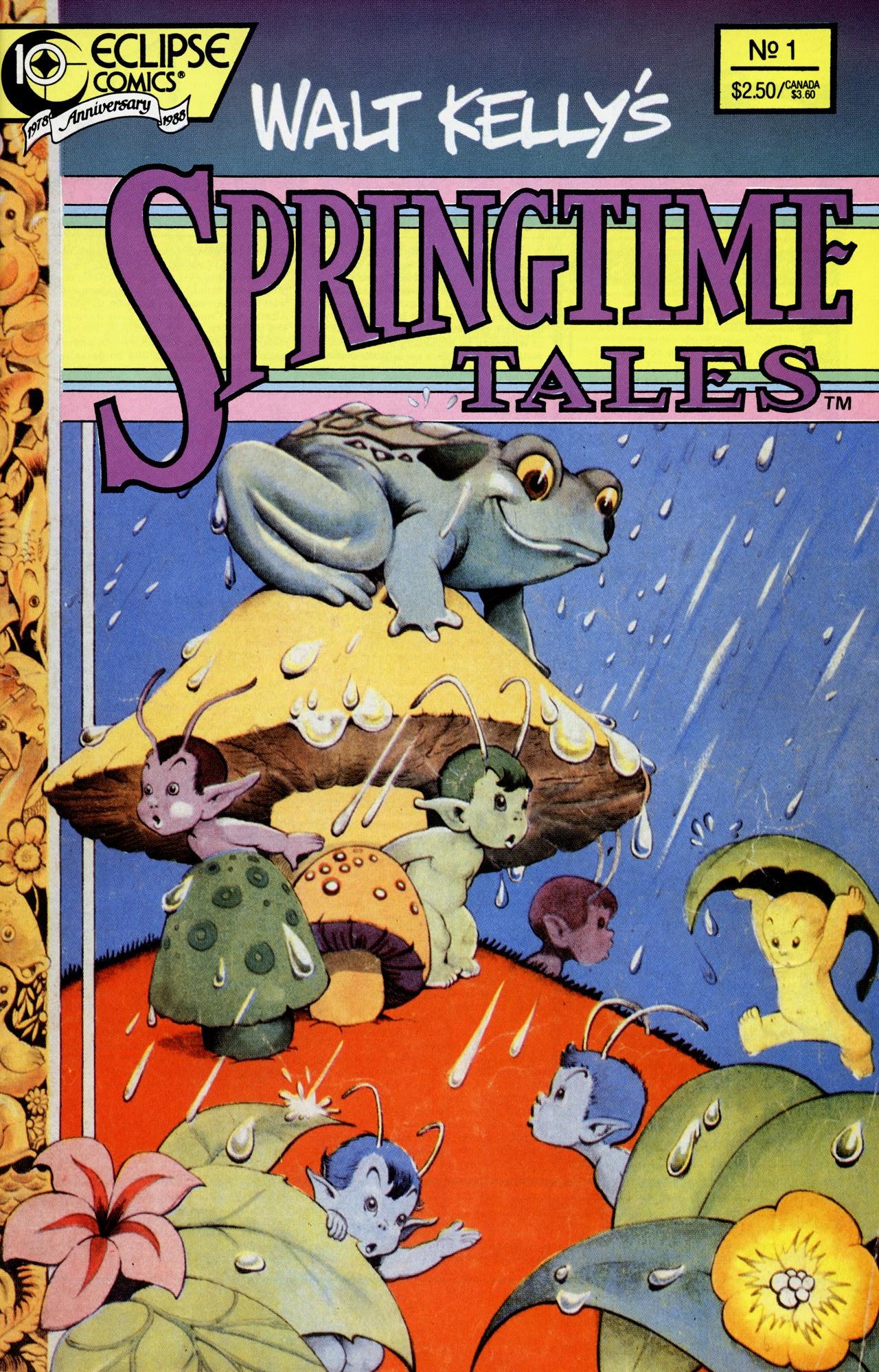 Walt Kellys Springtime Tales Full Page 1