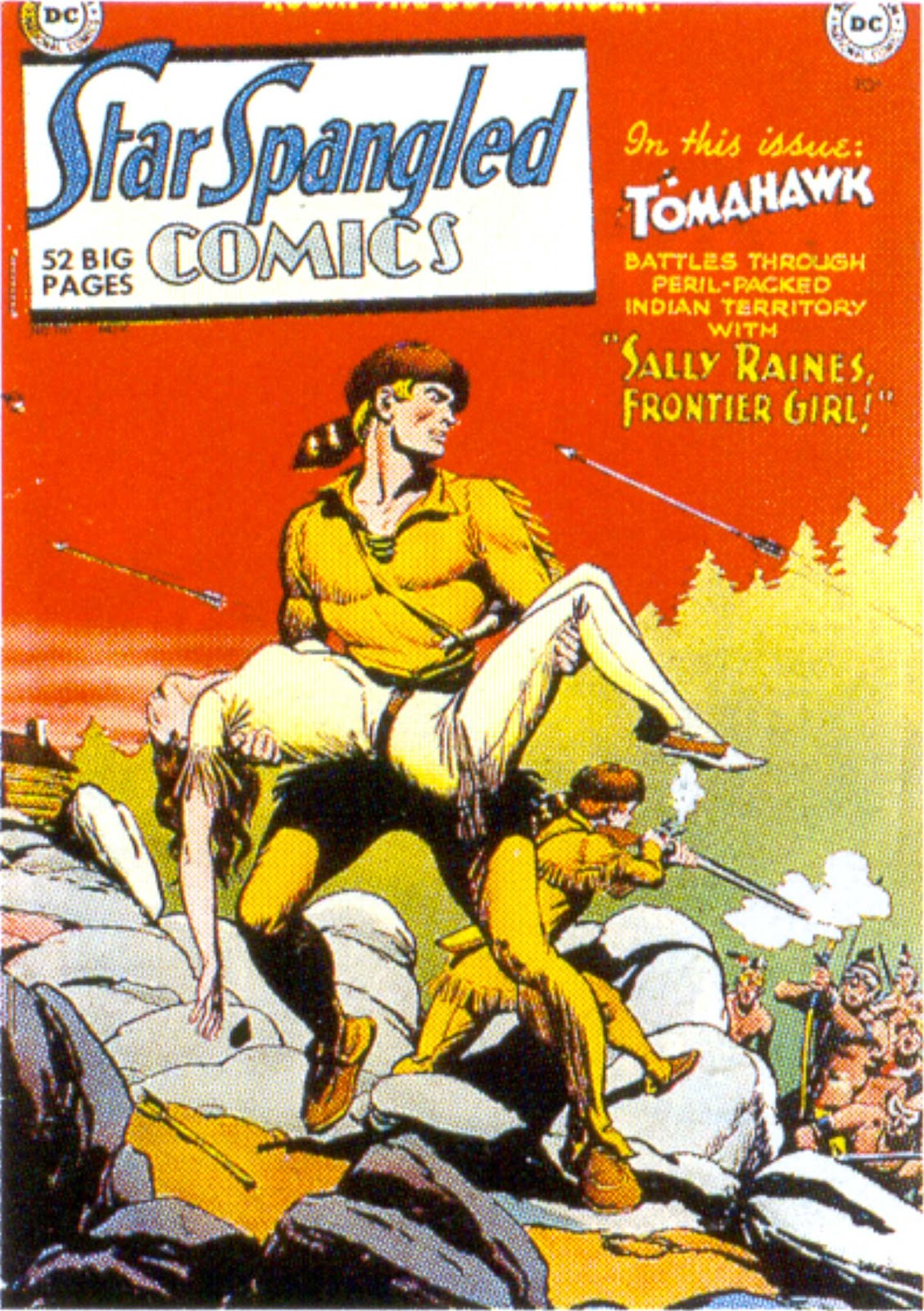 Comic Star Spangled Comics 1941 Issue 110