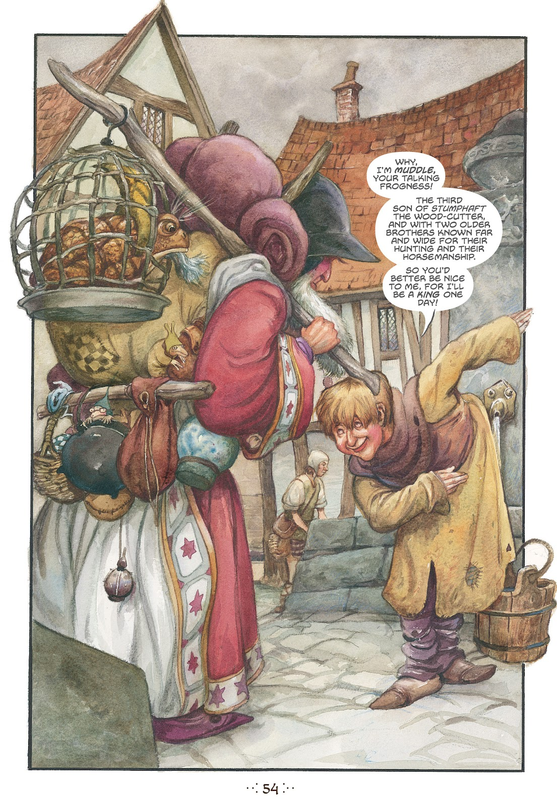 Read online The Wizard's Tale comic -  Issue # TPB - 51