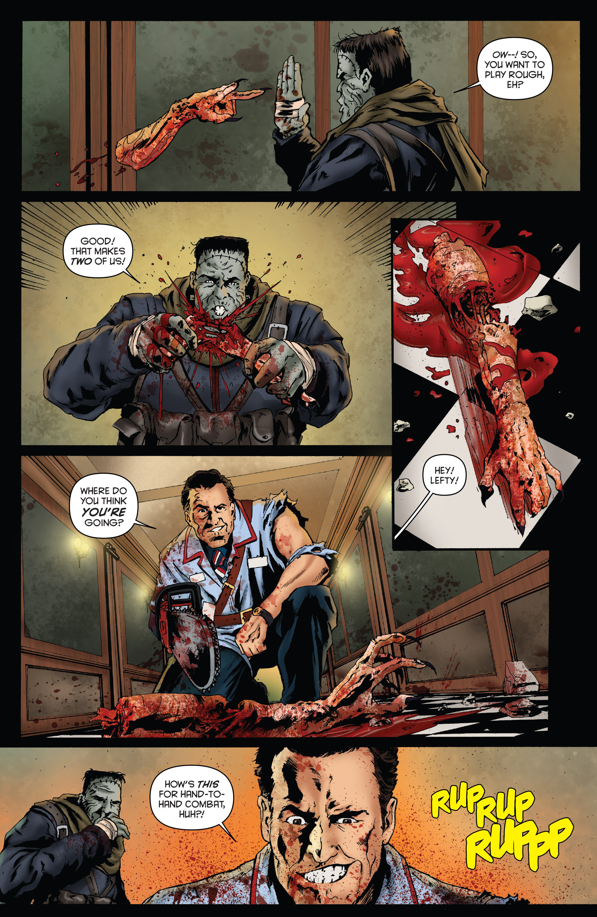 Read online Army of Darkness: Furious Road comic -  Issue #3 - 17