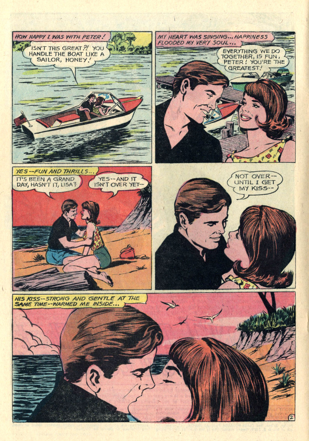 Read online Secret Hearts comic -  Issue #112 - 4