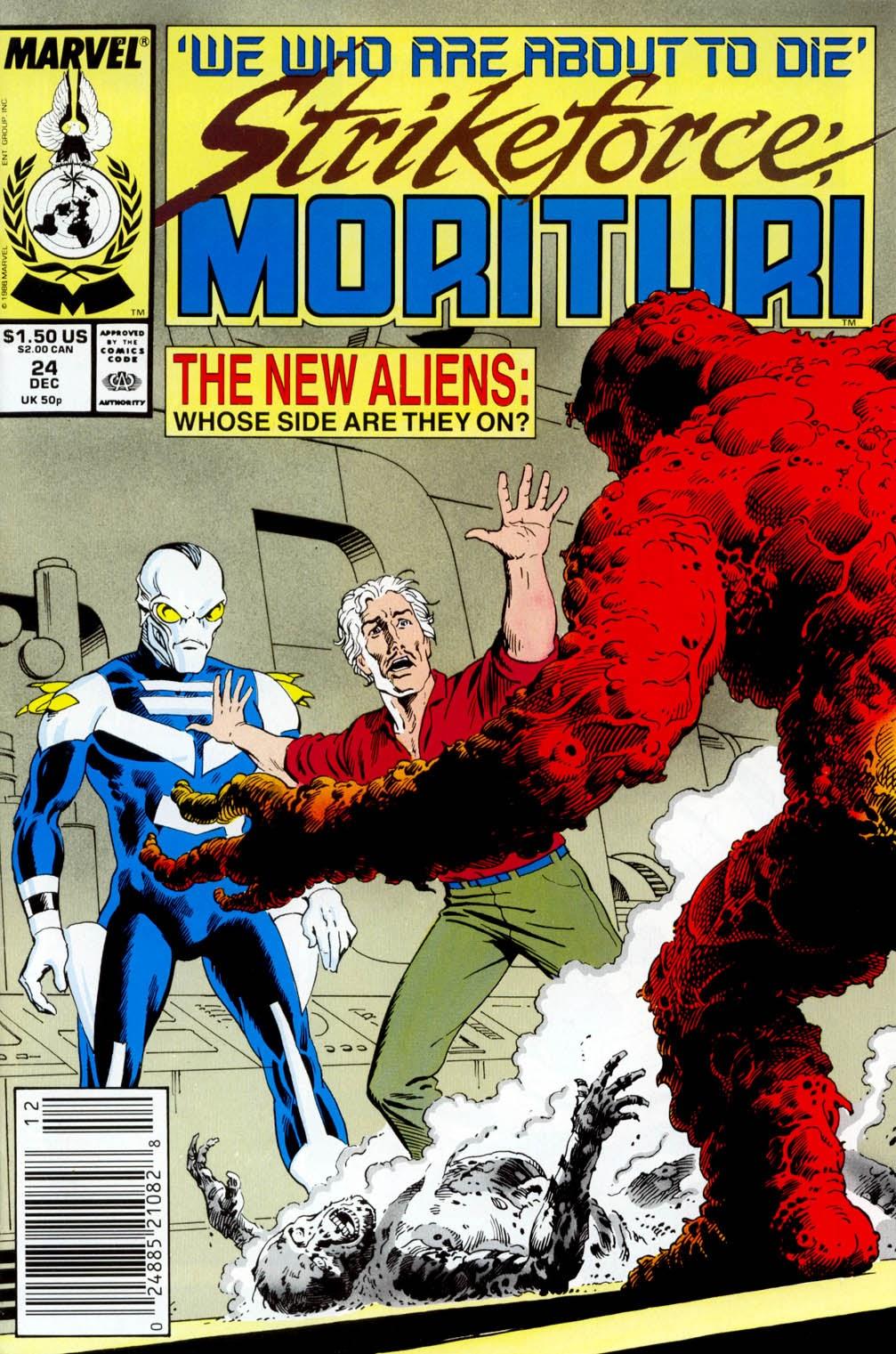 Strikeforce: Morituri 24 Page 1