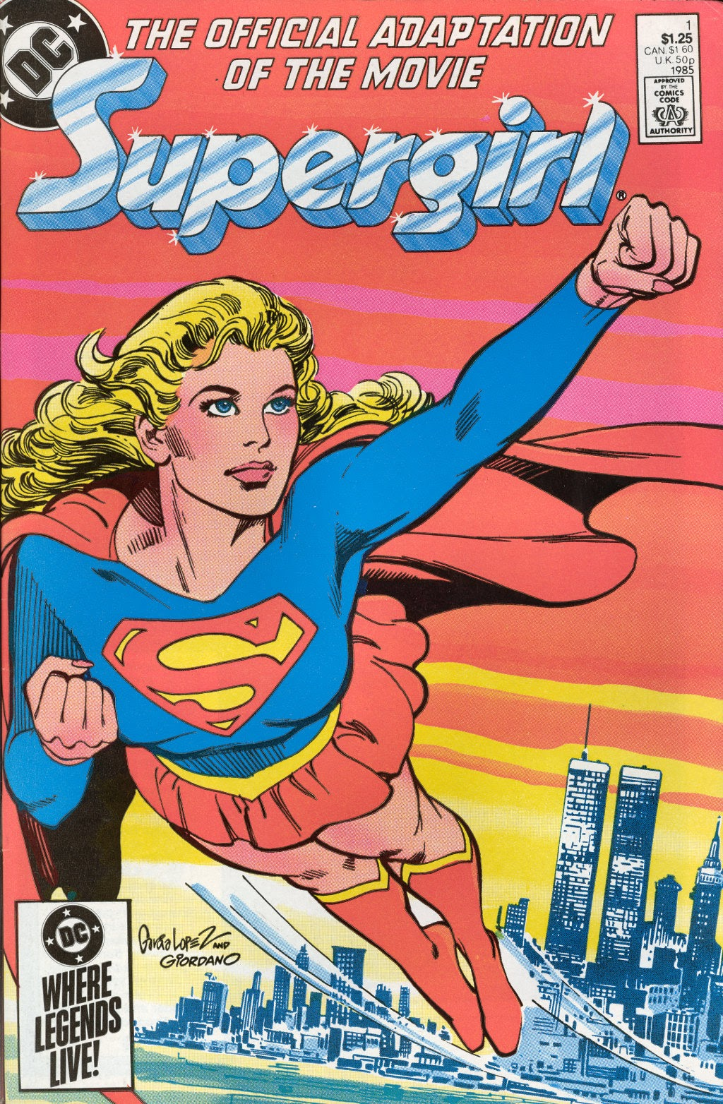 Read online Supergirl Movie Special comic -  Issue # Full - 1