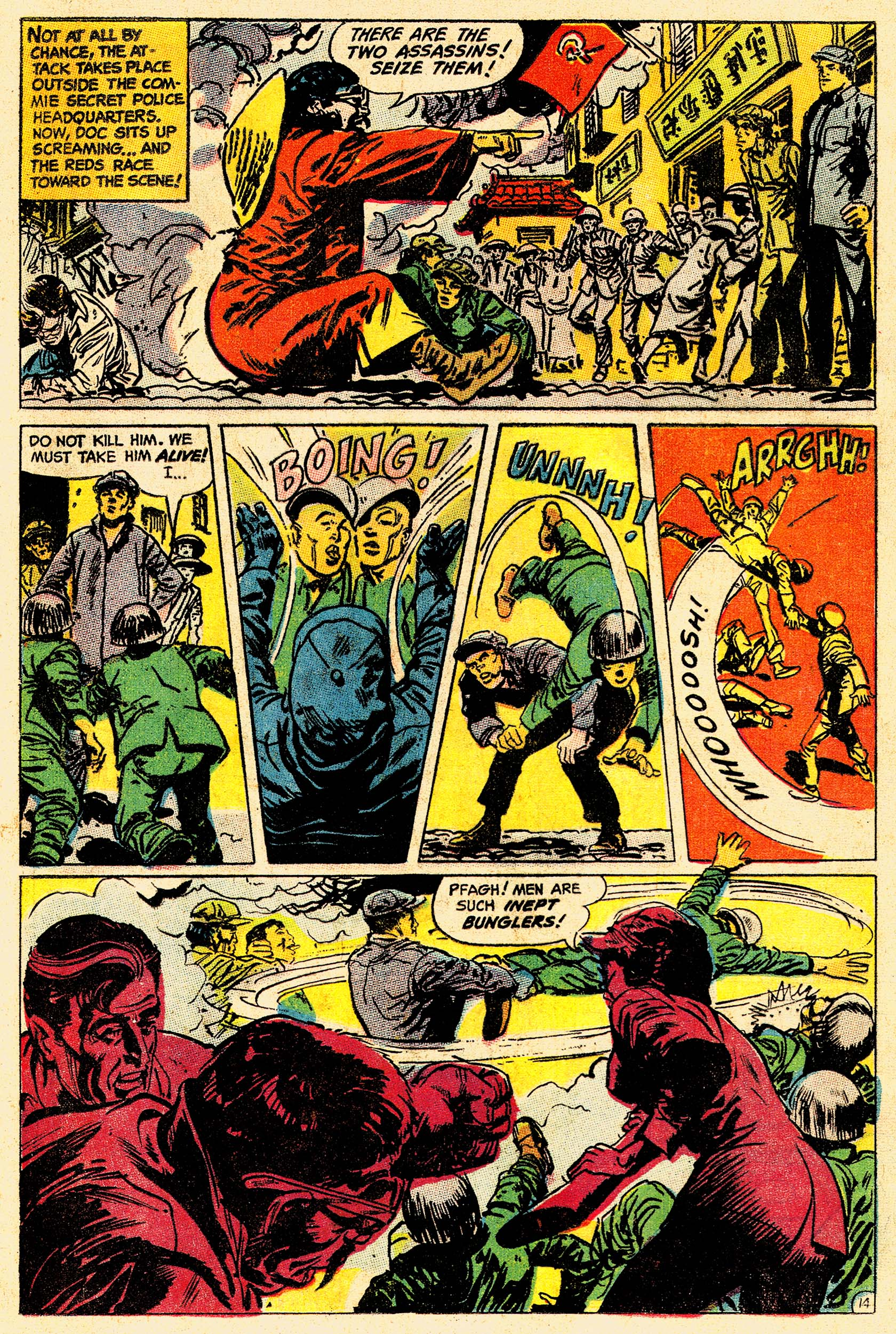 Read online Secret Six (1968) comic -  Issue #4 - 19