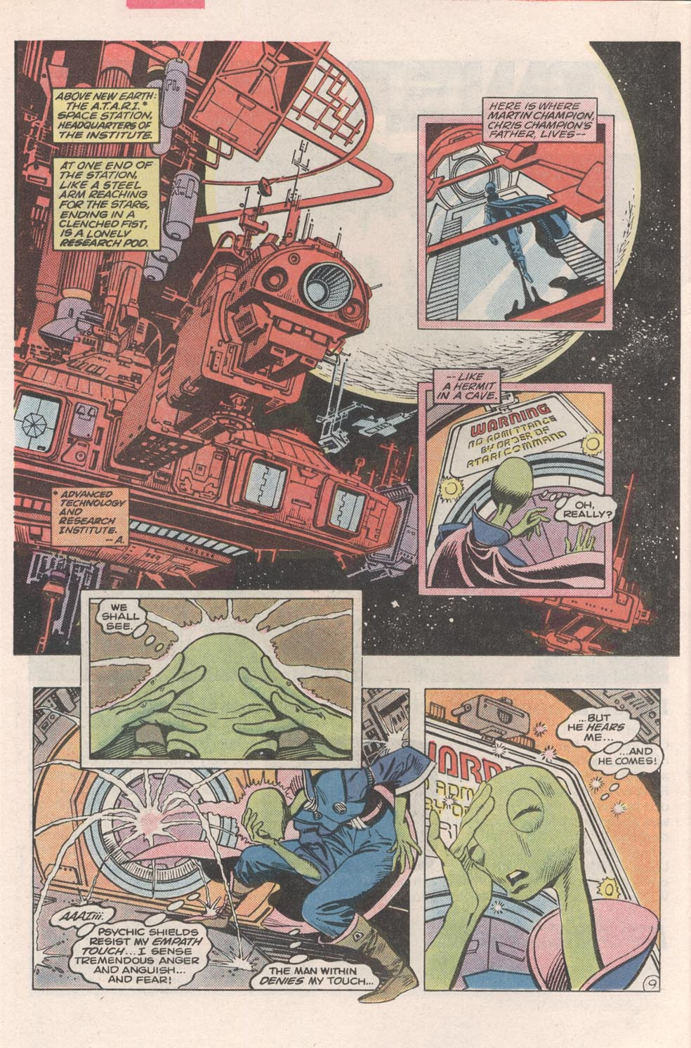 Read online Atari Force (1984) comic -  Issue #2 - 11