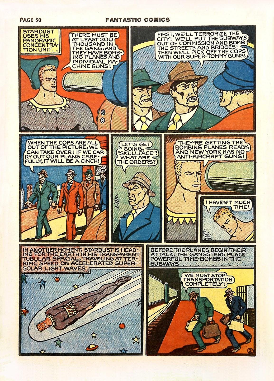 Read online Fantastic Comics comic -  Issue #11 - 53