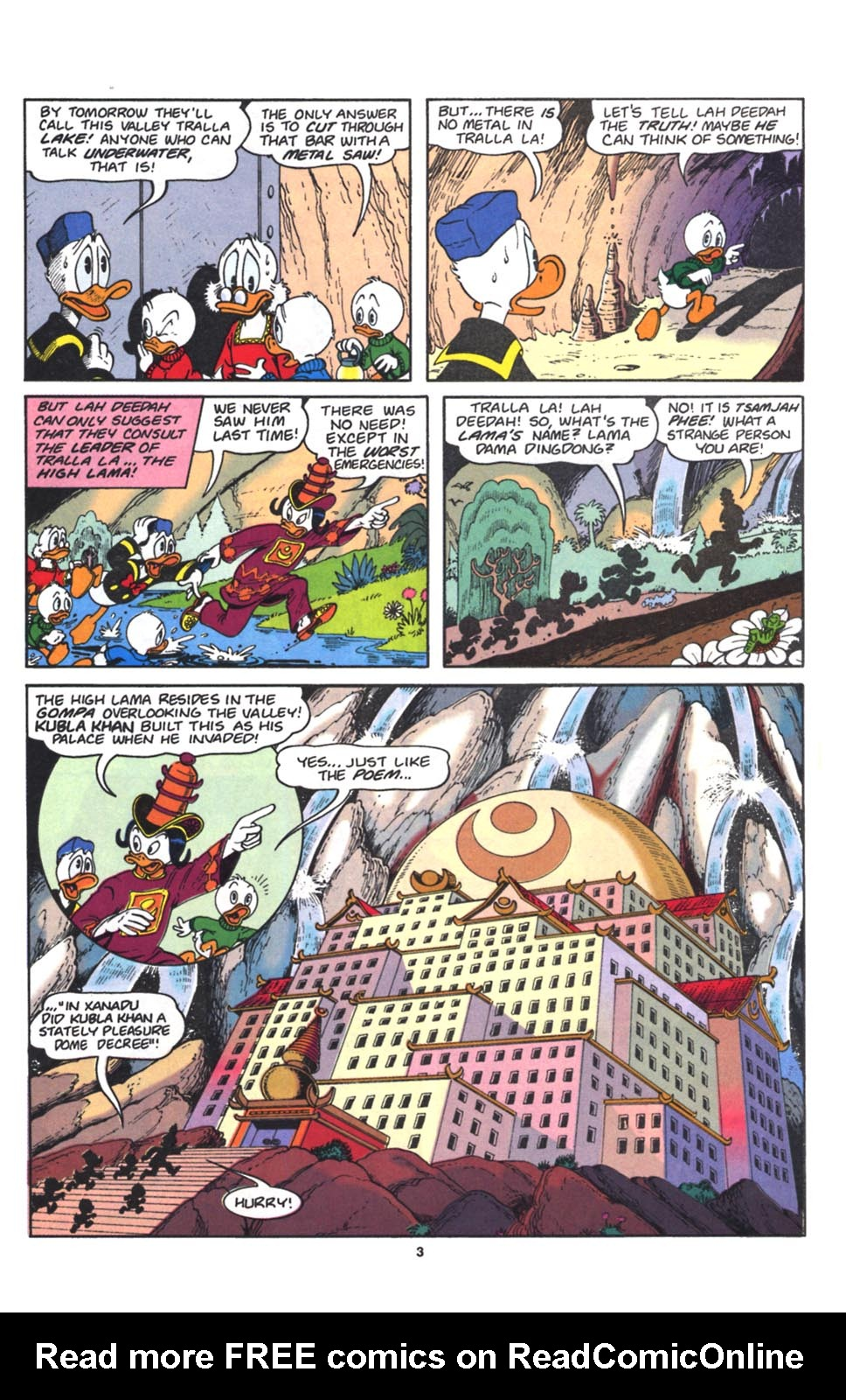 Read online Uncle Scrooge (1953) comic -  Issue #262 - 4