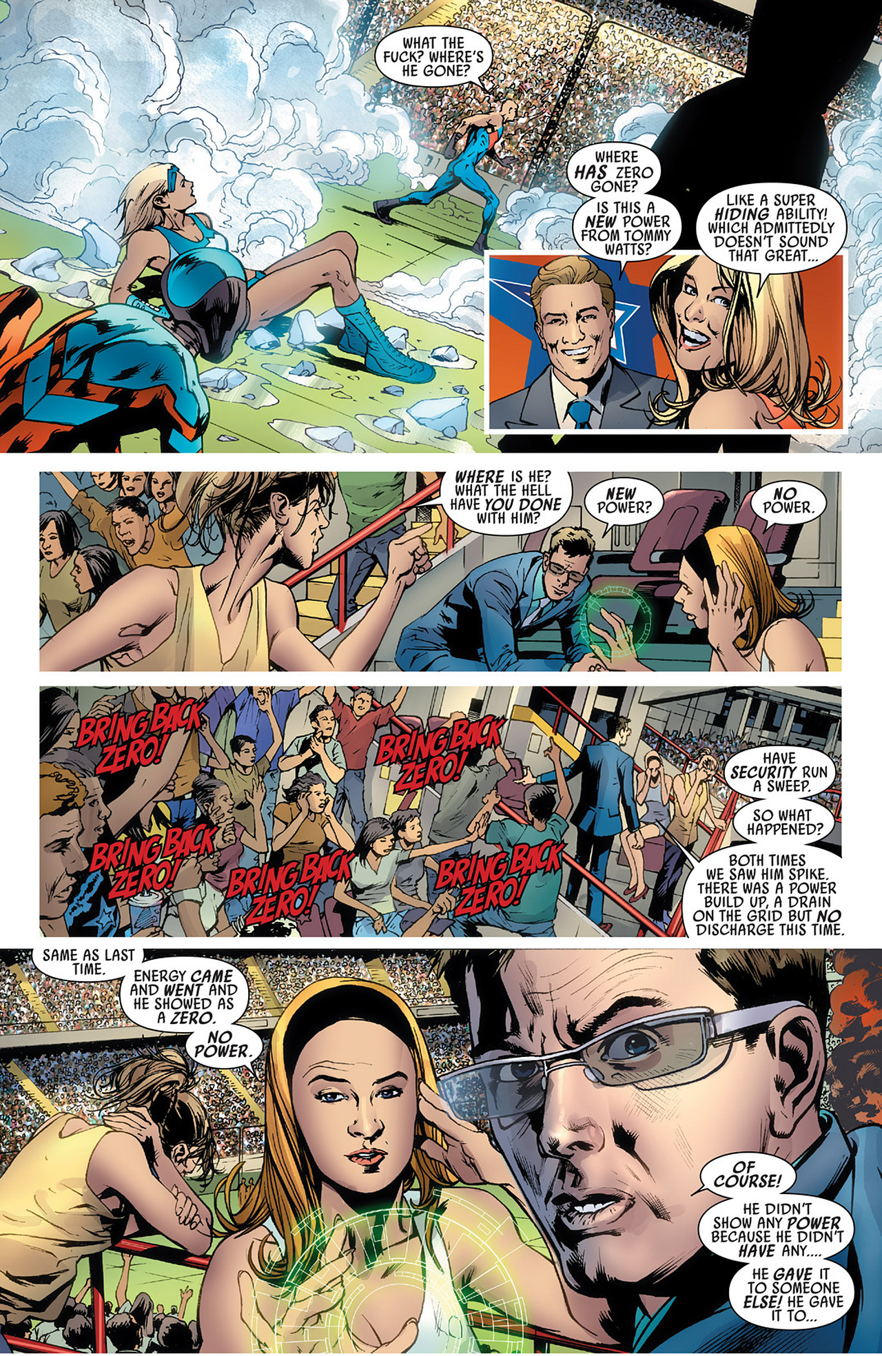 Read online America's Got Powers comic -  Issue #3 - 22
