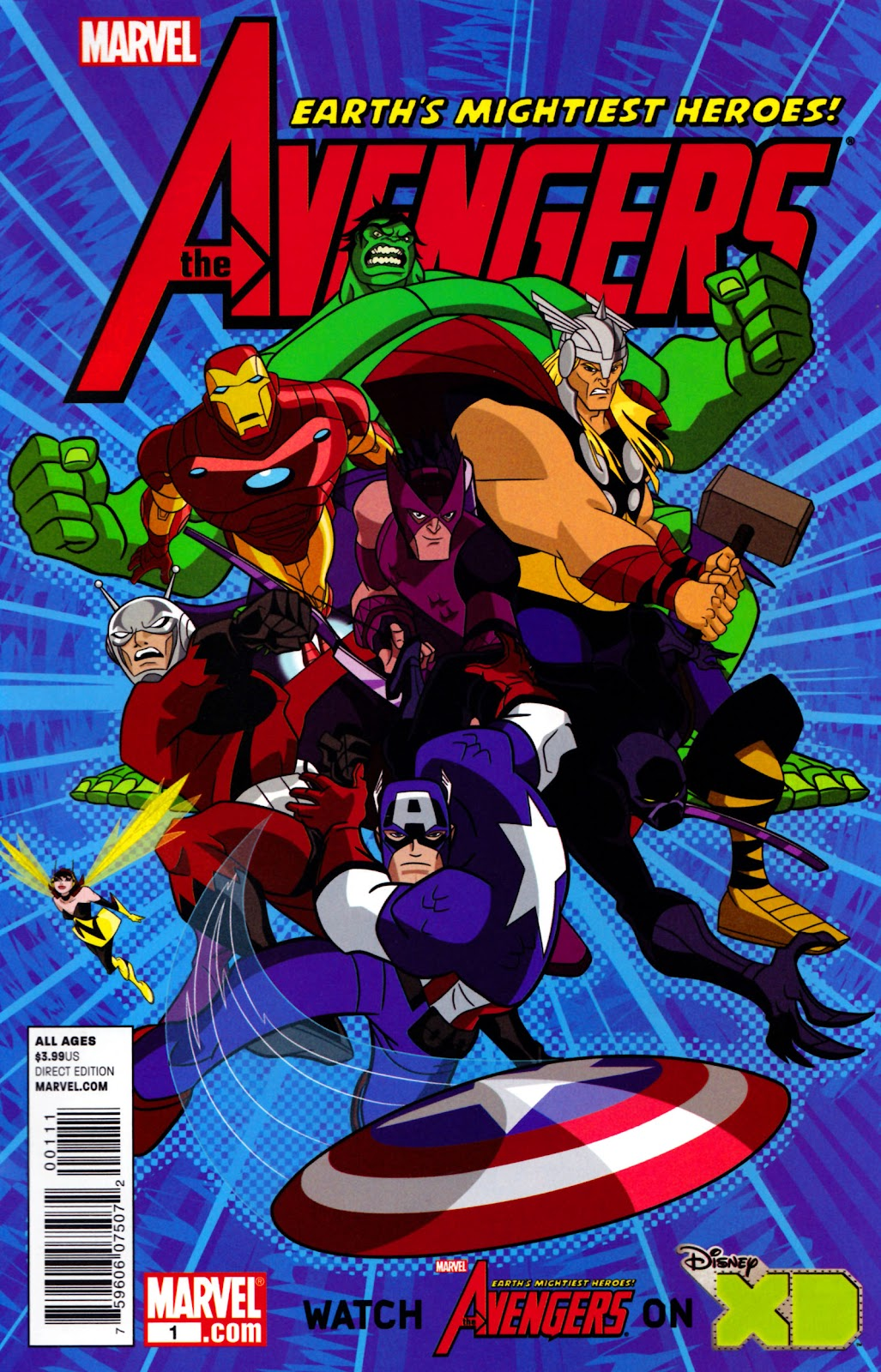Avengers: Earth's Mightiest Heroes (2011) Issue #1 #1 - English 1