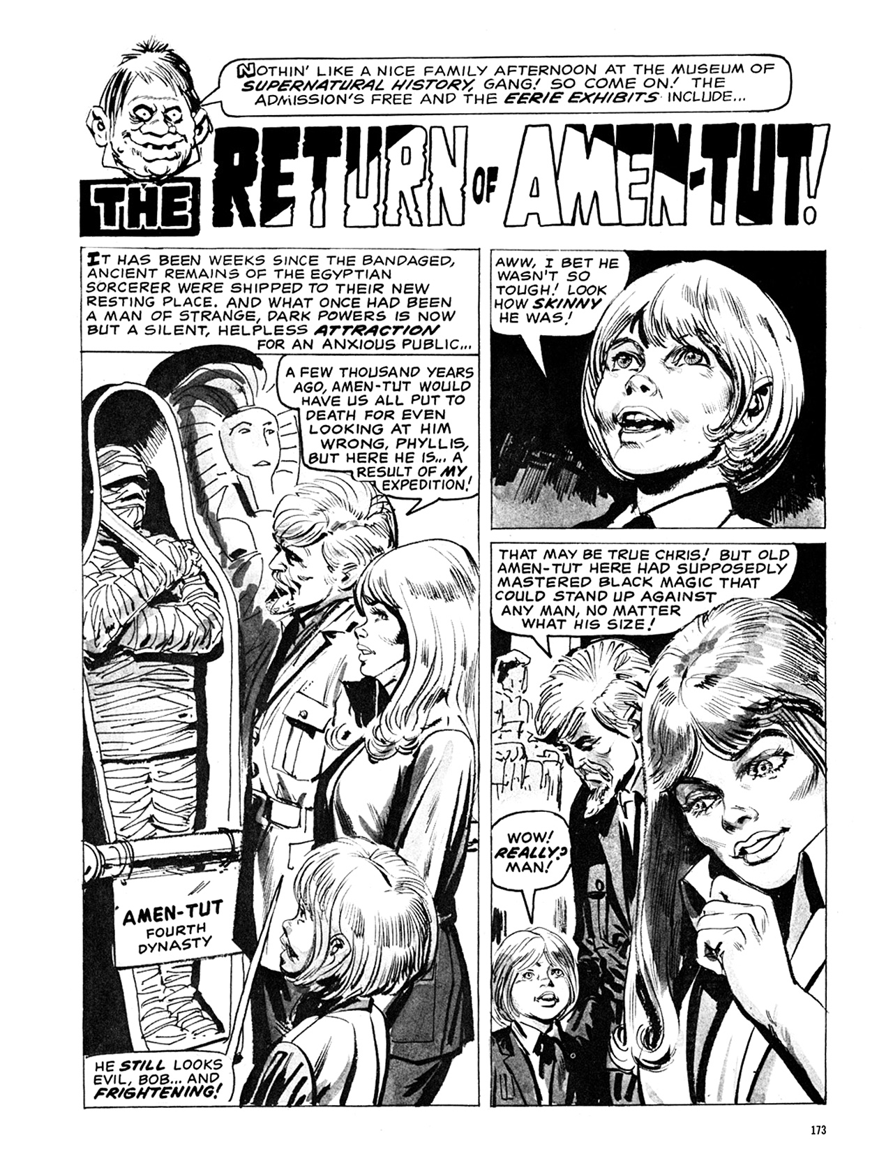 Read online Eerie Archives comic -  Issue # TPB 6 - 173