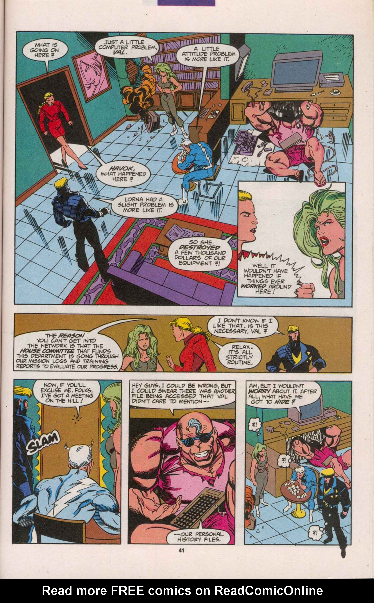 Read online X-Factor (1986) comic -  Issue # _ Annual 8 - 36