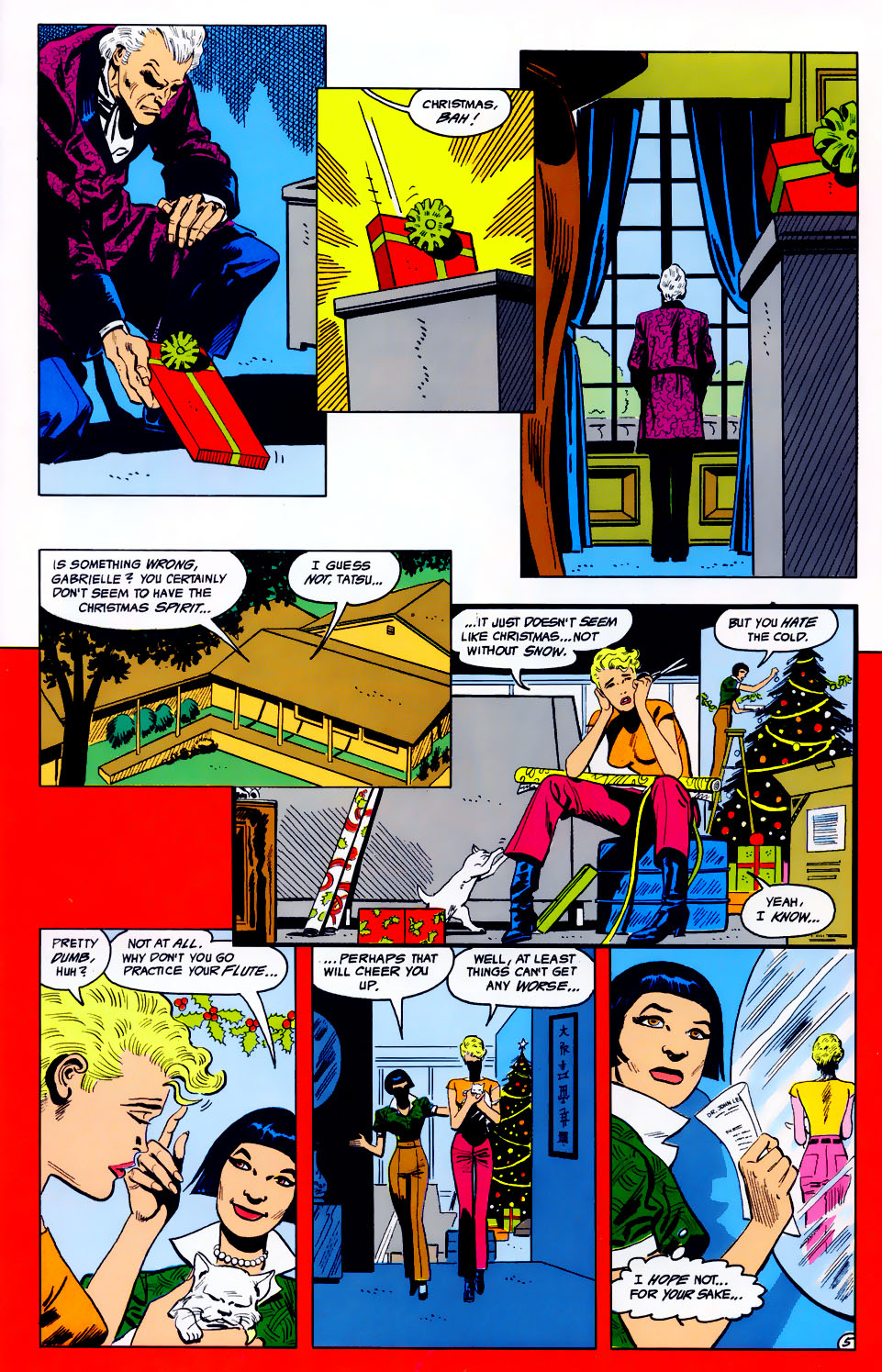 Read online Adventures of the Outsiders comic -  Issue #43 - 6