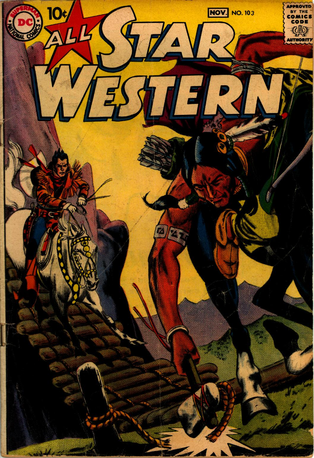 Read online All-Star Western (1951) comic -  Issue #103 - 1