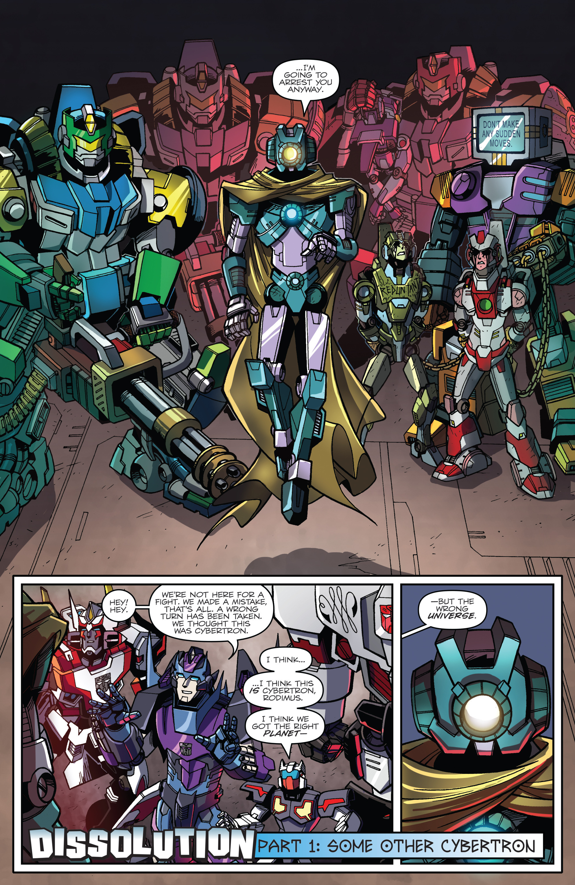 Read online Transformers: Lost Light comic -  Issue #1 - 23